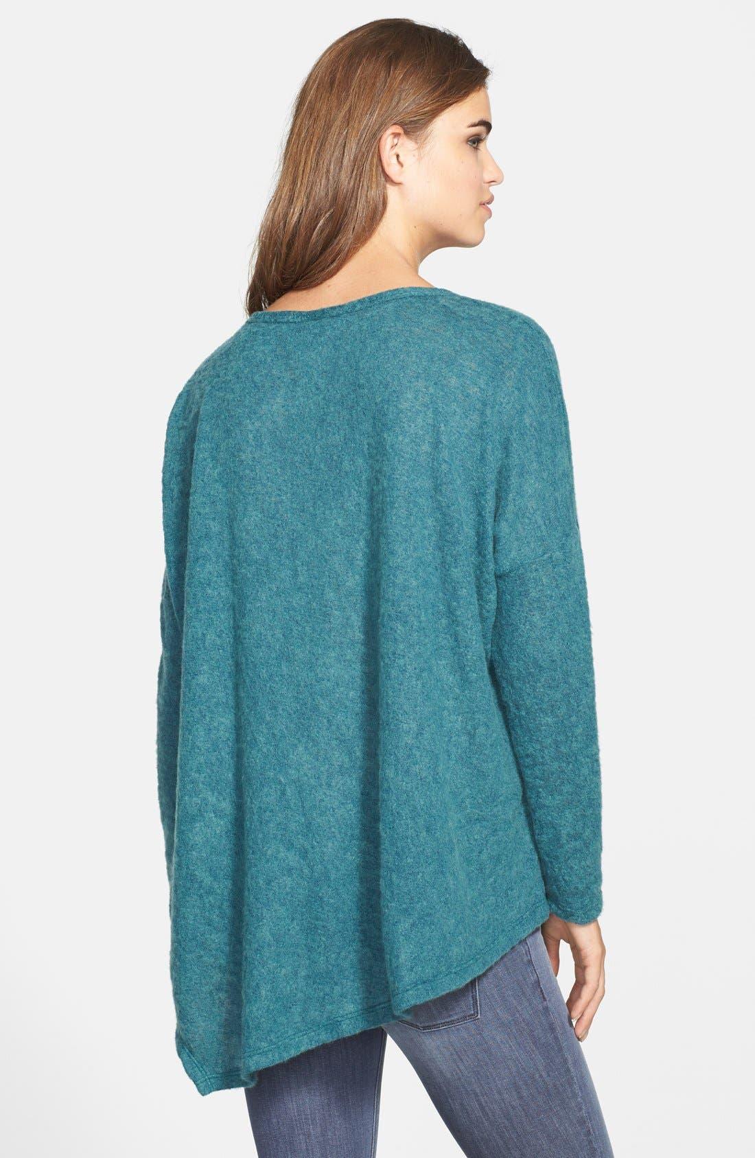 Alternate Image 2  - Bobeau Asymmetrical Sweater