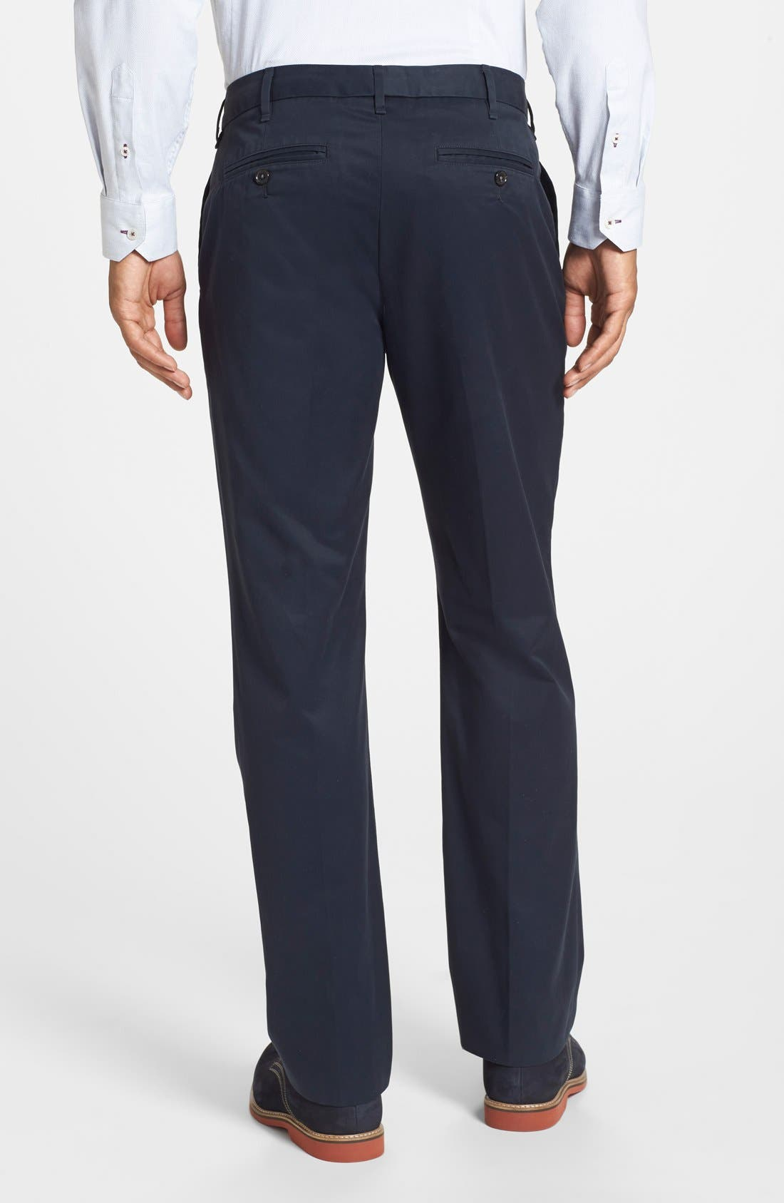 PLUS Smart Trousers In Navy - Navy Duke I9OqpxqDM