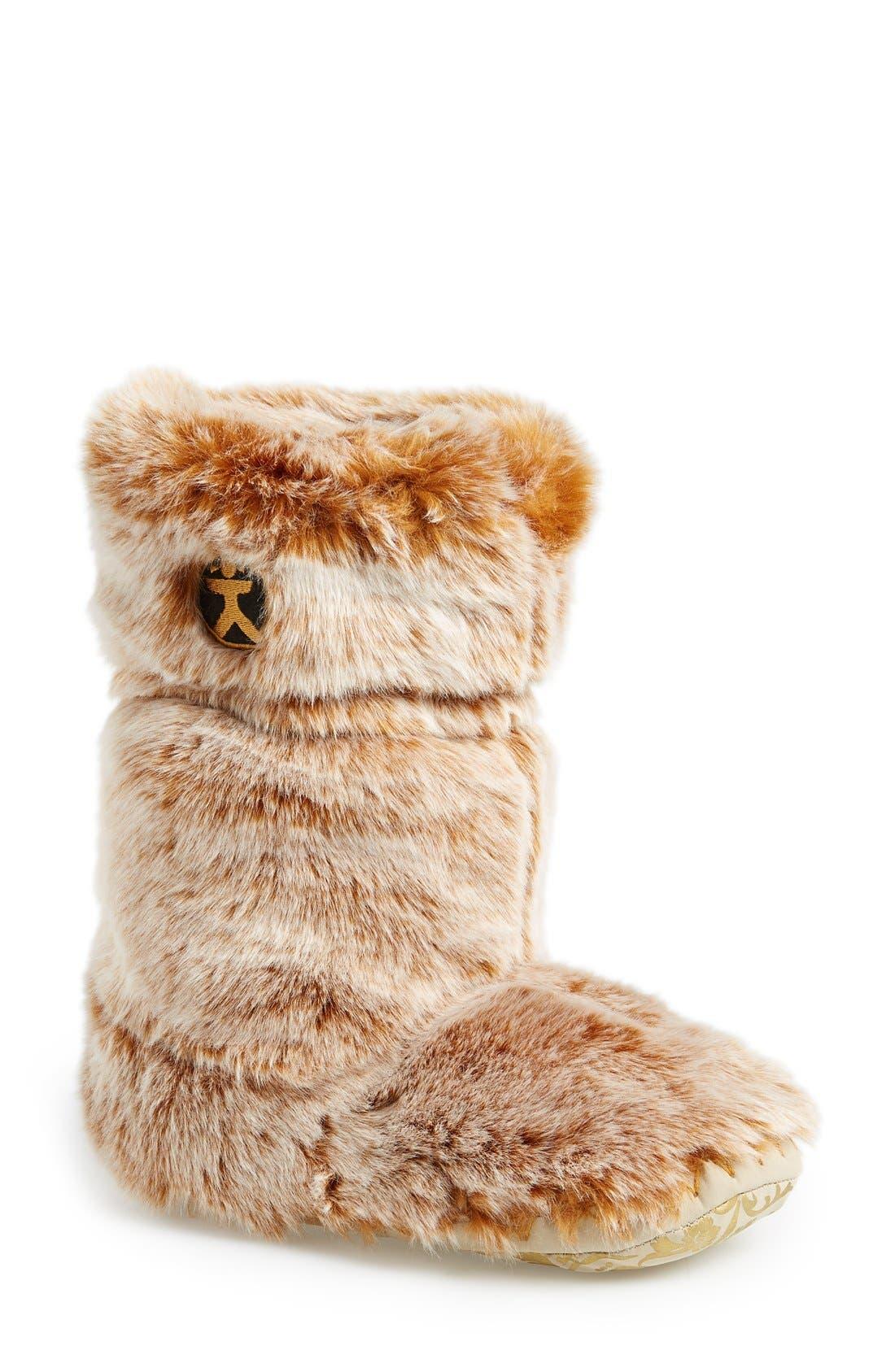 Alternate Image 1 Selected - Bedroom Athletics 'Sienna' Faux Fur Slipper Boot (Women)