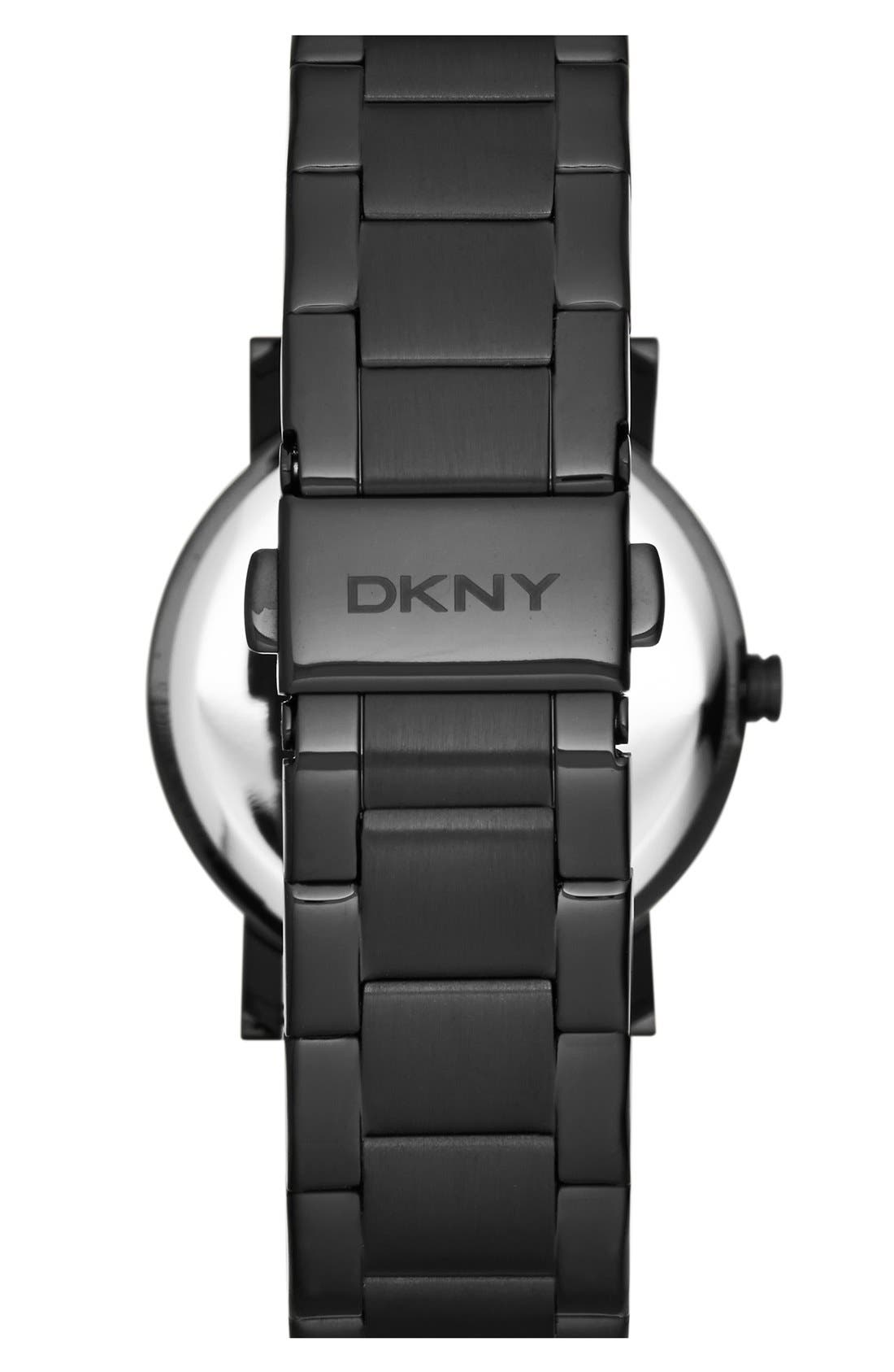 Alternate Image 2  - DKNY 'Soho' Iridescent Accent Bracelet Watch, 34mm