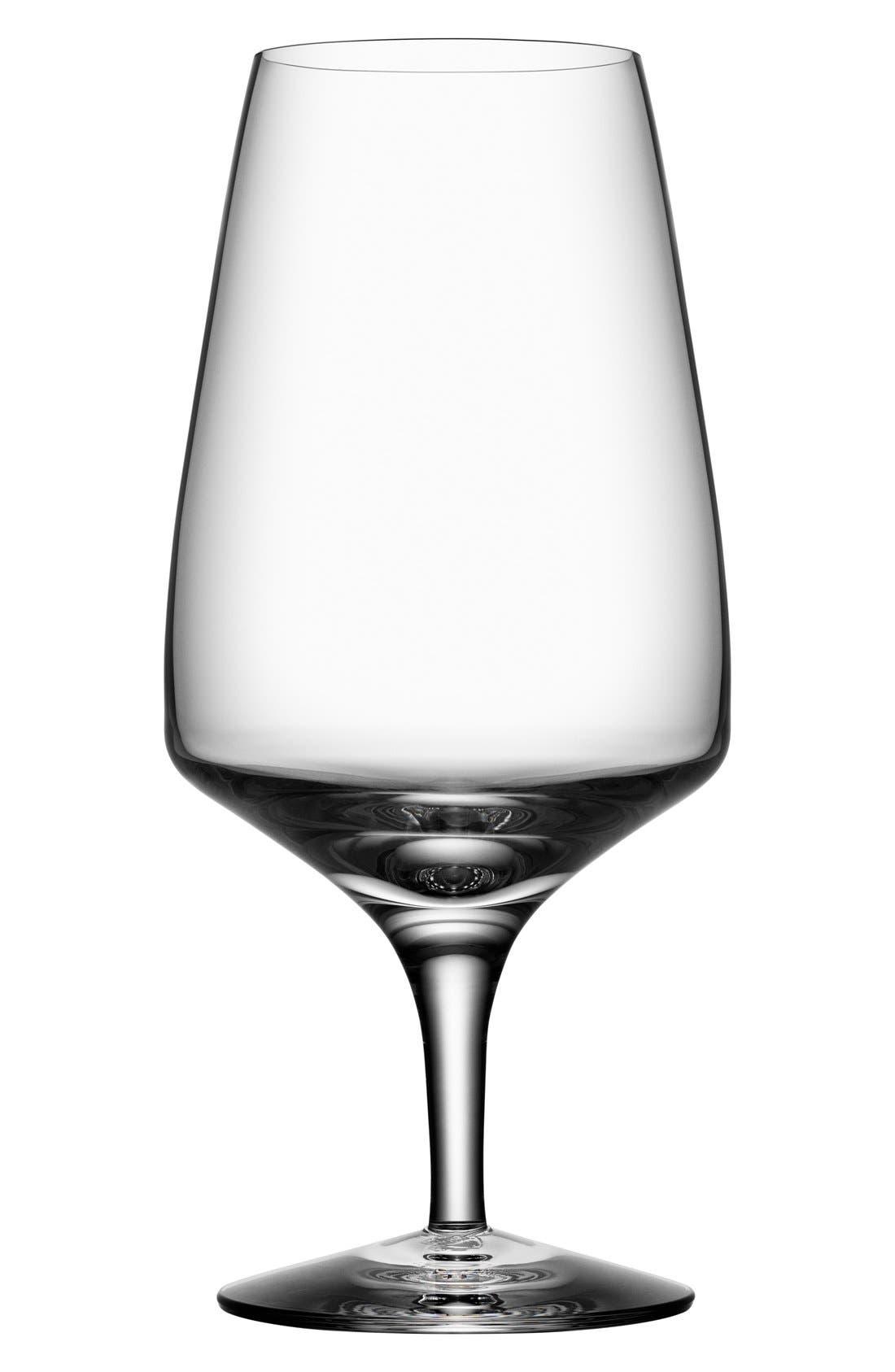 Alternate Image 1 Selected - Orrefors 'Pulse' Leaded Crystal Beer Glasses (Set of 4)