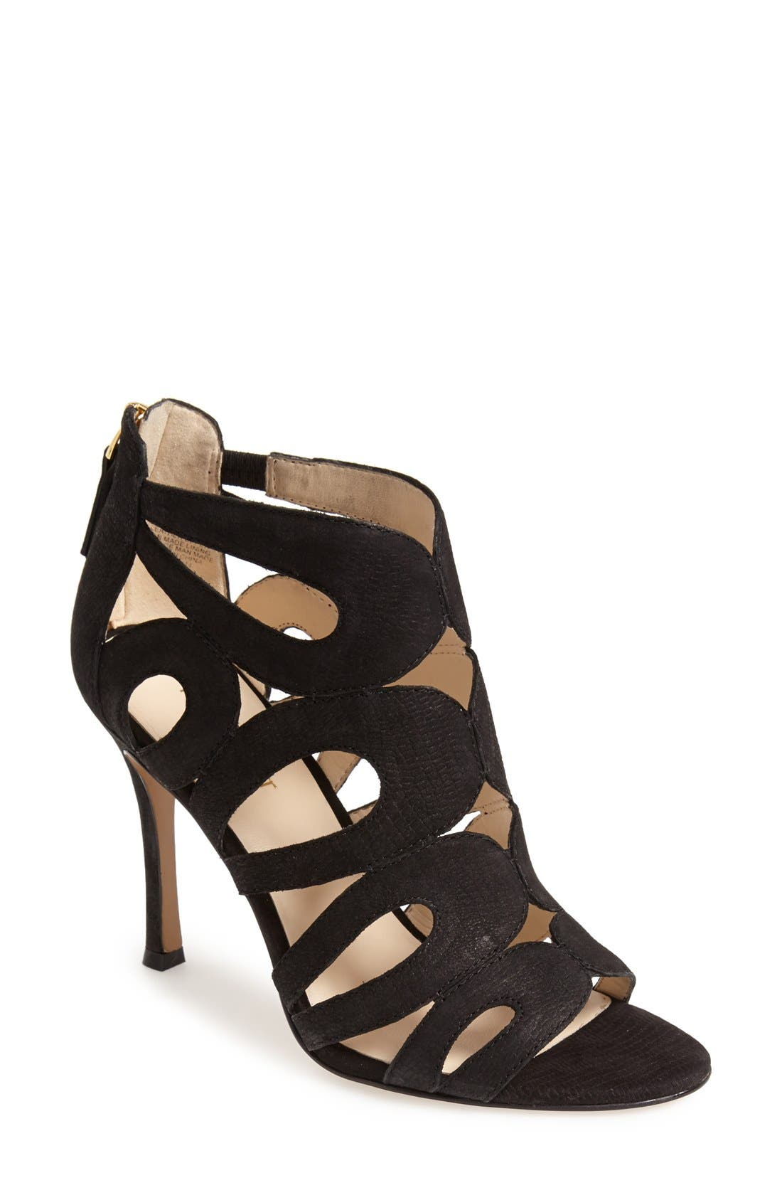 Alternate Image 1 Selected - Nine West 'Flora' Caged Bootie (Women)