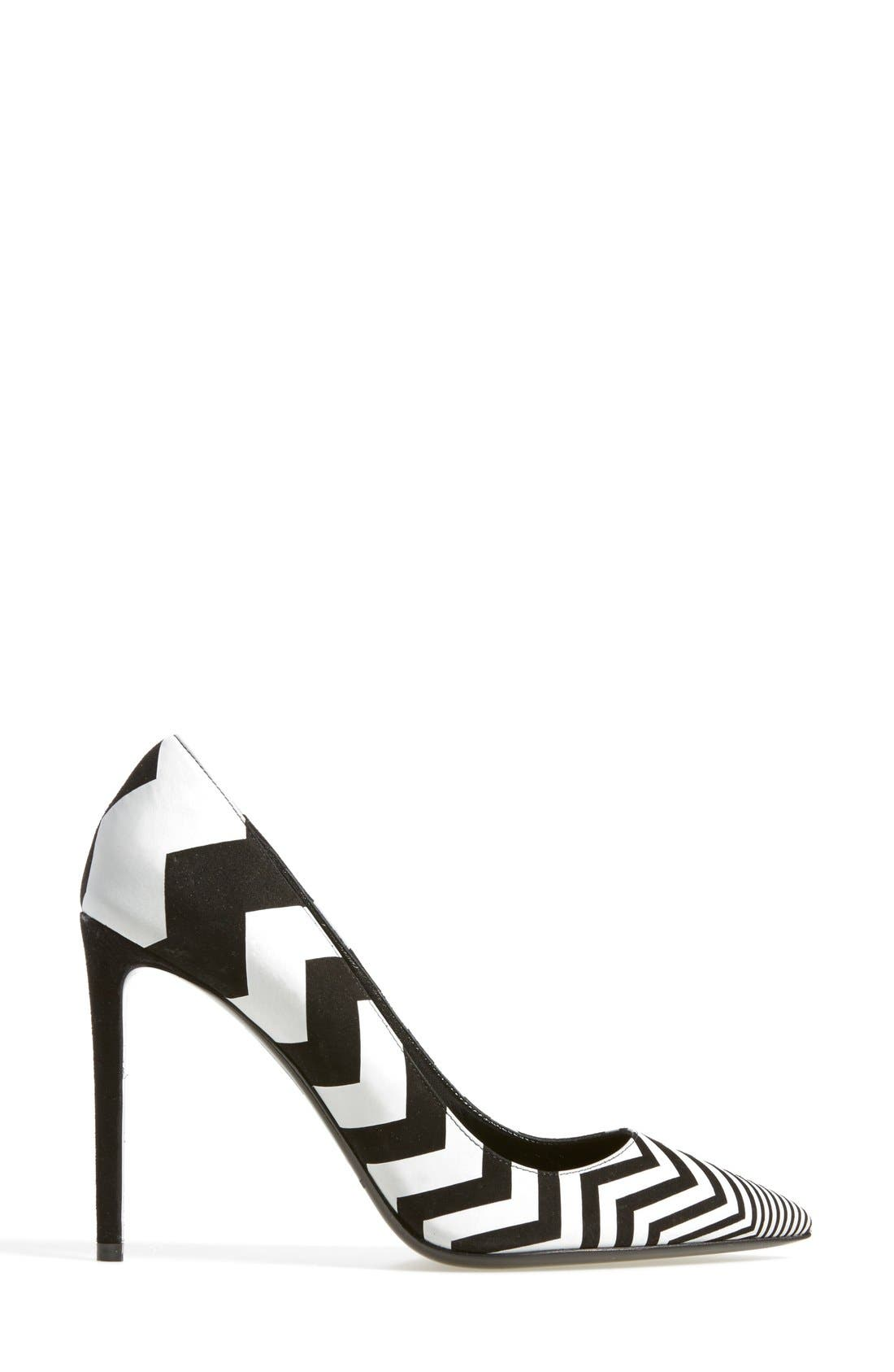 Alternate Image 4  - Nicholas Kirkwood Chevron Pointy Toe Pump (Women)