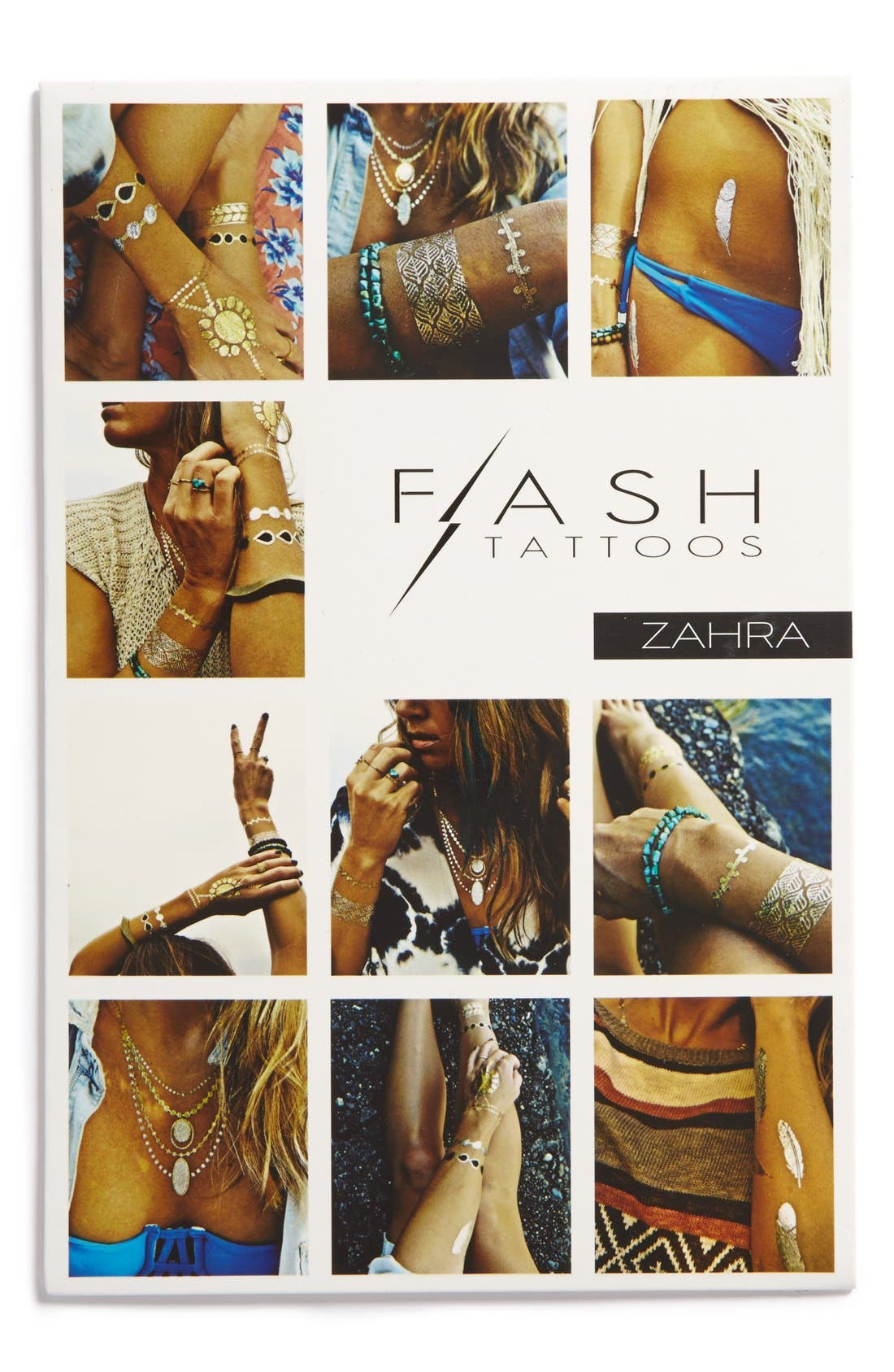 Main Image - Flash Tattoos 'Zahra' Temporary Tattoos