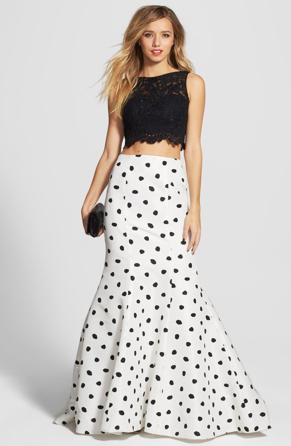 Lace Mermaid Skirt