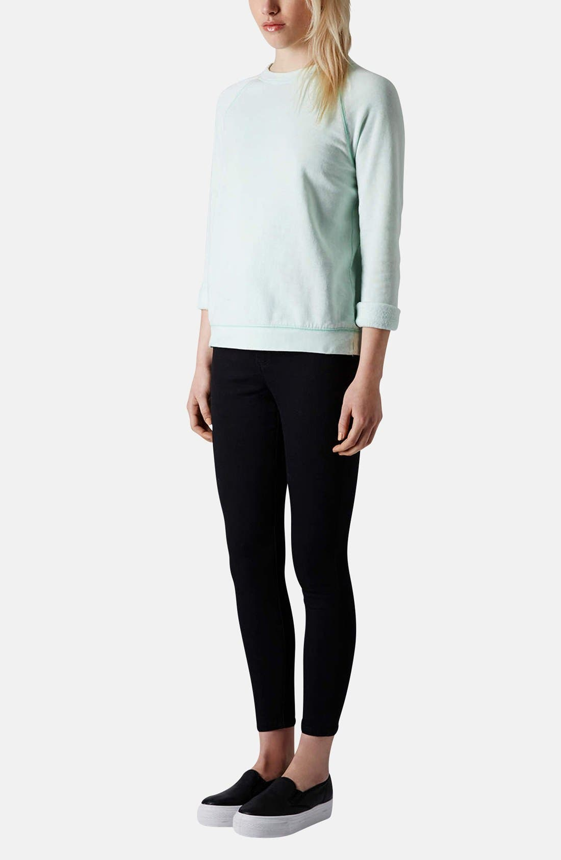 Alternate Image 5  - Topshop Moto 'Joni' High Rise Skinny Jeans (Regular & Petite)
