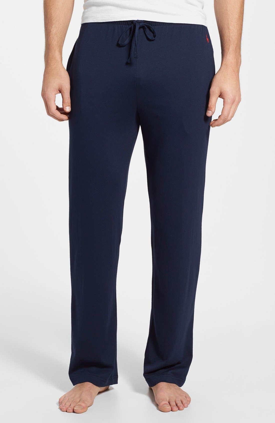 Pajama Pants,                         Main,                         color, Cruise Navy