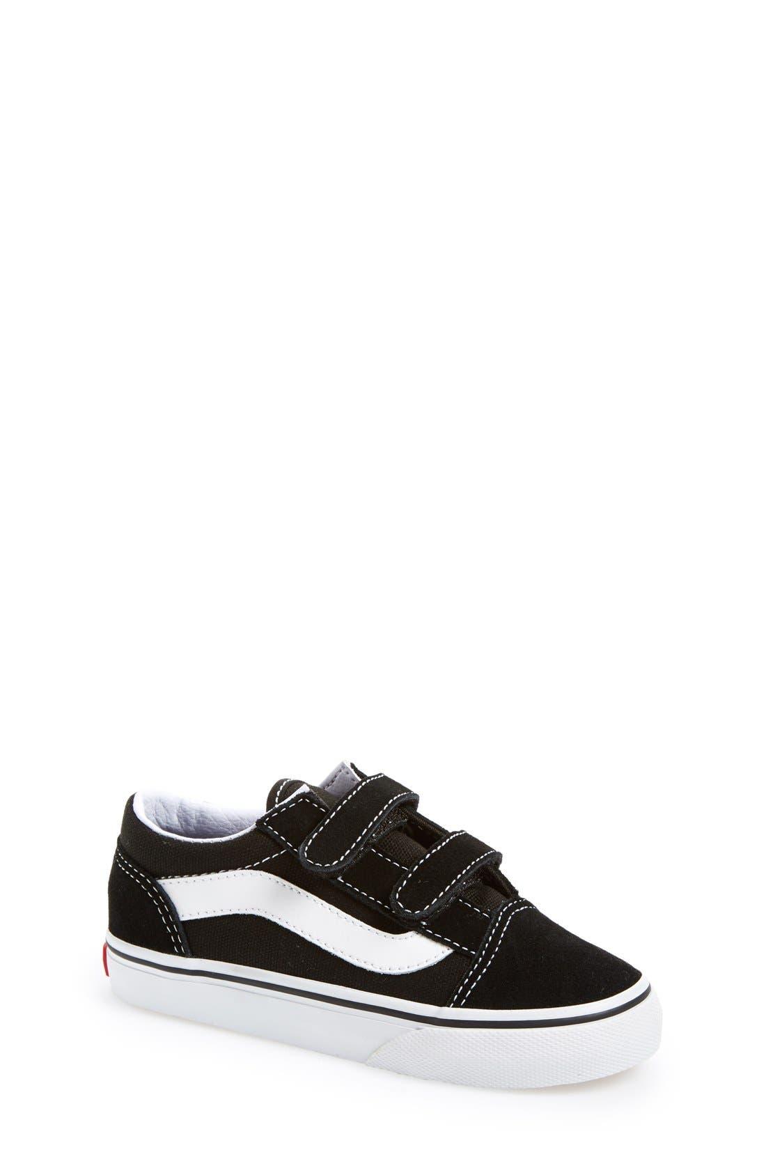 Alternate Image 1 Selected - Vans 'Old Skool' Sneaker (Baby, Walker & Toddler)