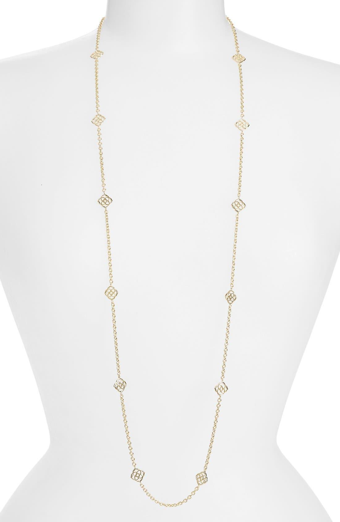 Kendra Scott 'Devalyn' Long Station Necklace