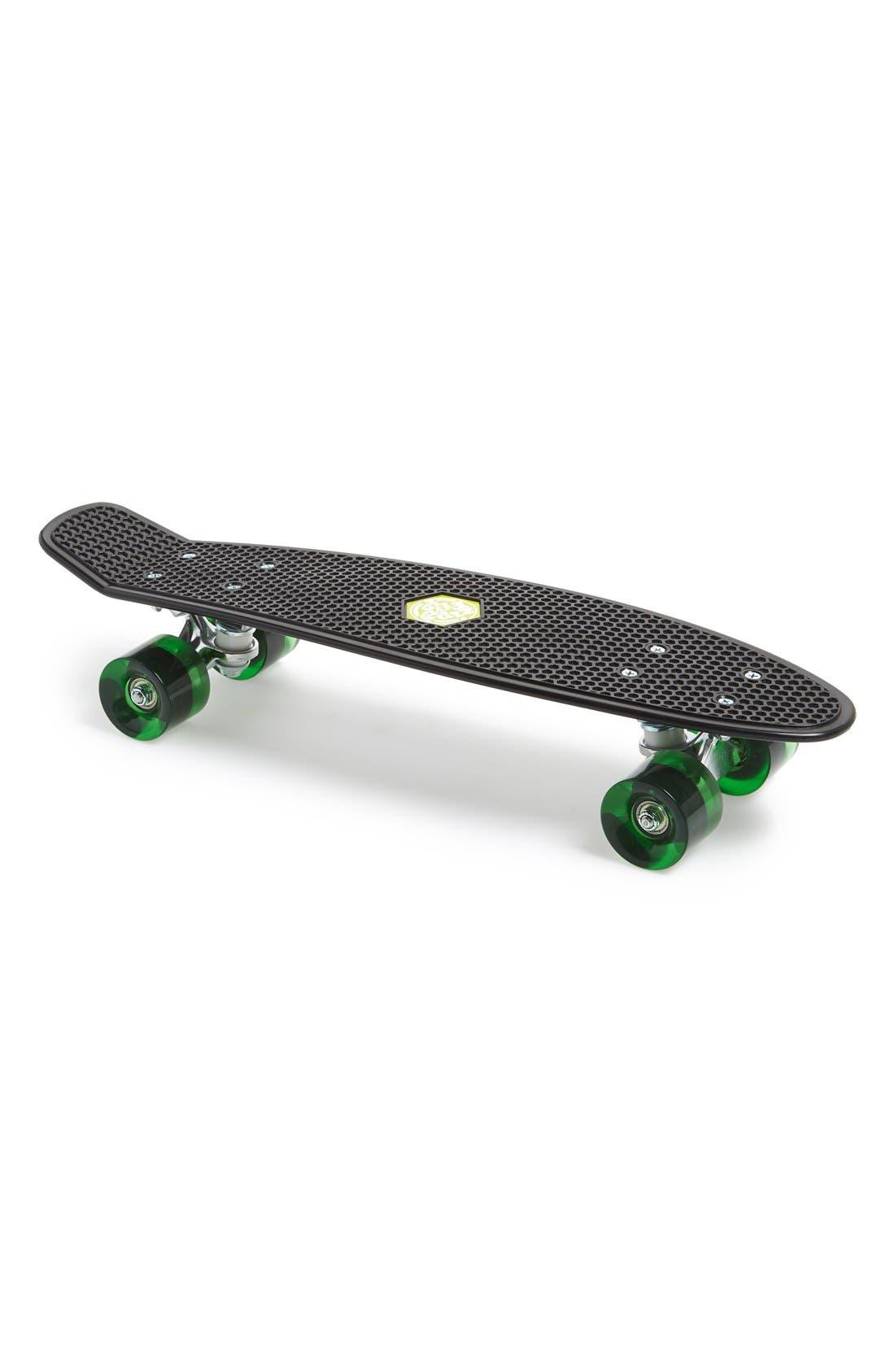 Skateboard,                             Main thumbnail 1, color,                             Black