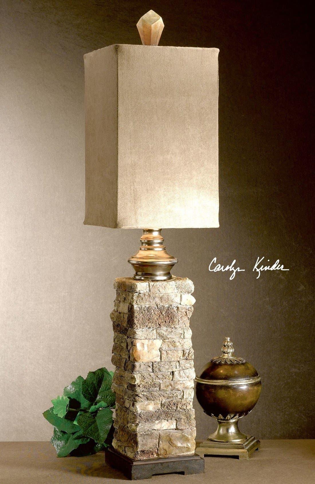 'Andean' Buffet Lamp,                             Alternate thumbnail 2, color,                             Beige