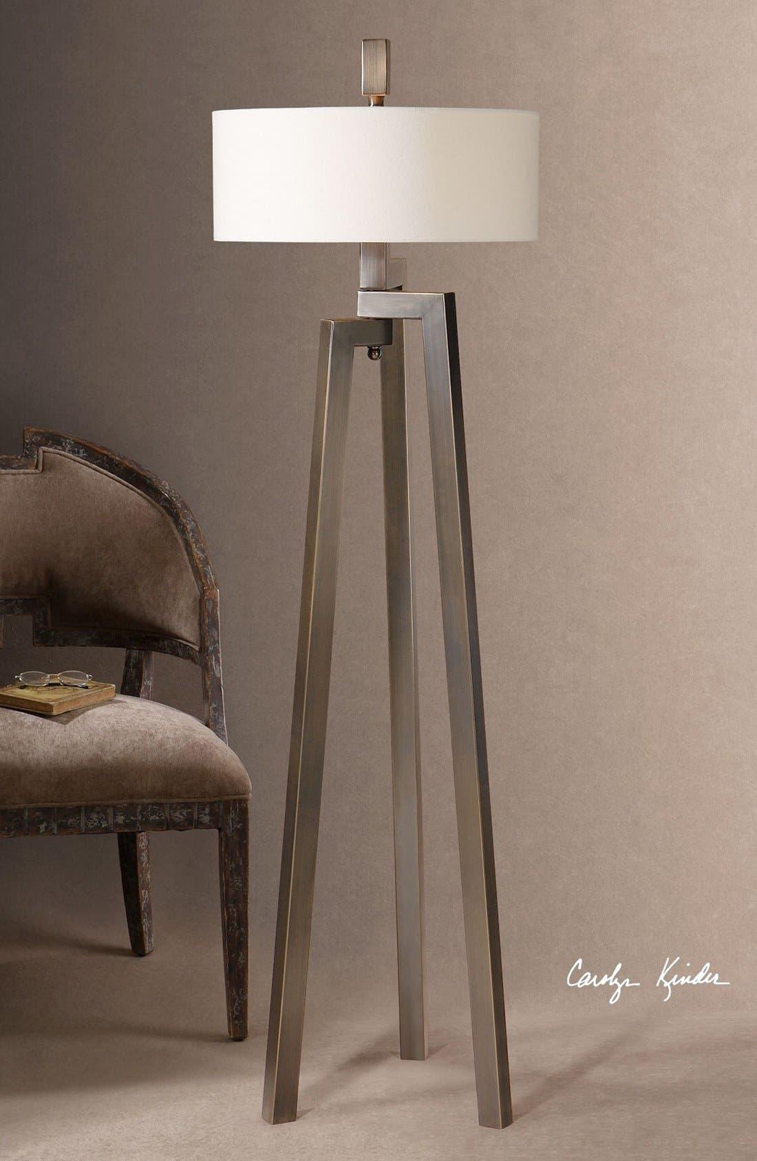 Alternate Image 2  - Uttermost 'Mondovi' Hand Forged Metal Floor Lamp