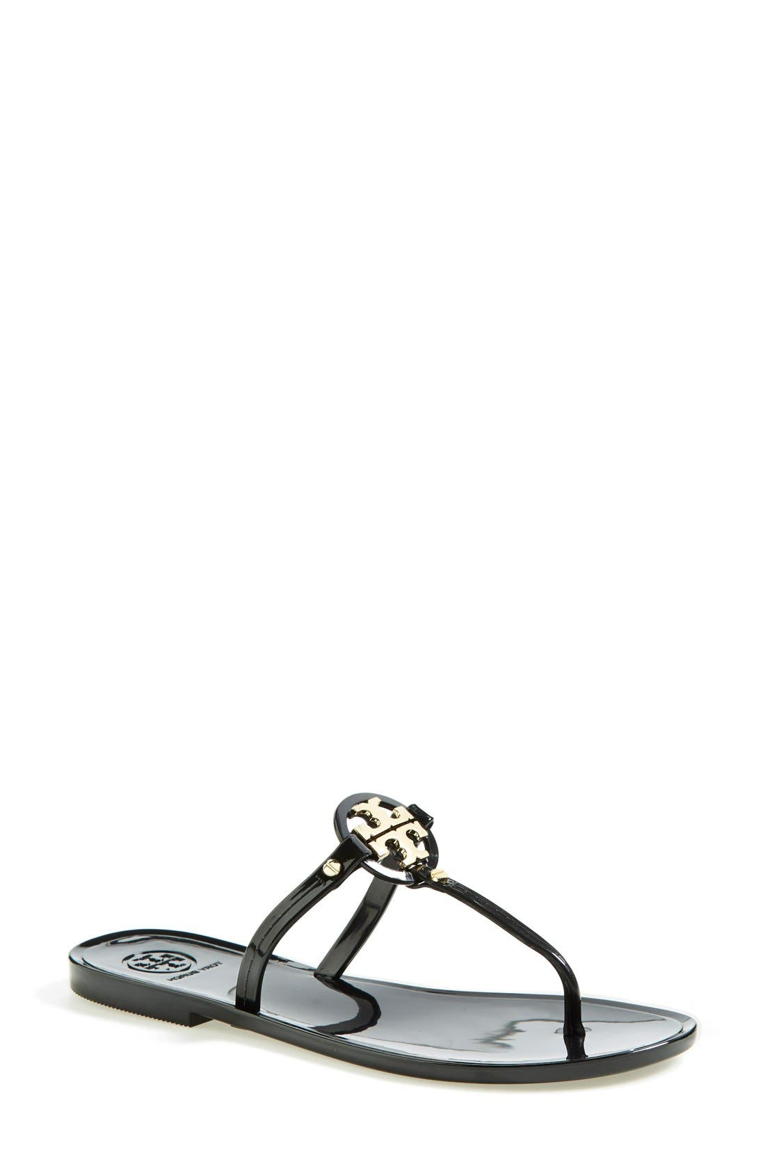 Alternate Image 1 Selected - Tory Burch 'Mini Miller' Flat Sandal (Women)