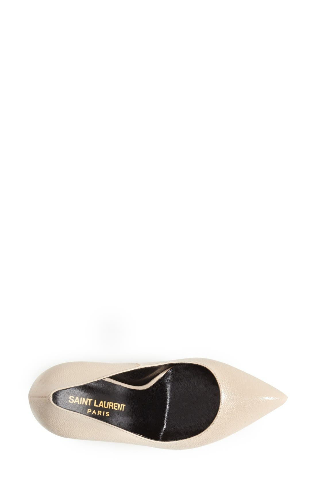 Alternate Image 3  - Saint Laurent 'Janis' Pointy Toe Platform Pump (Women)