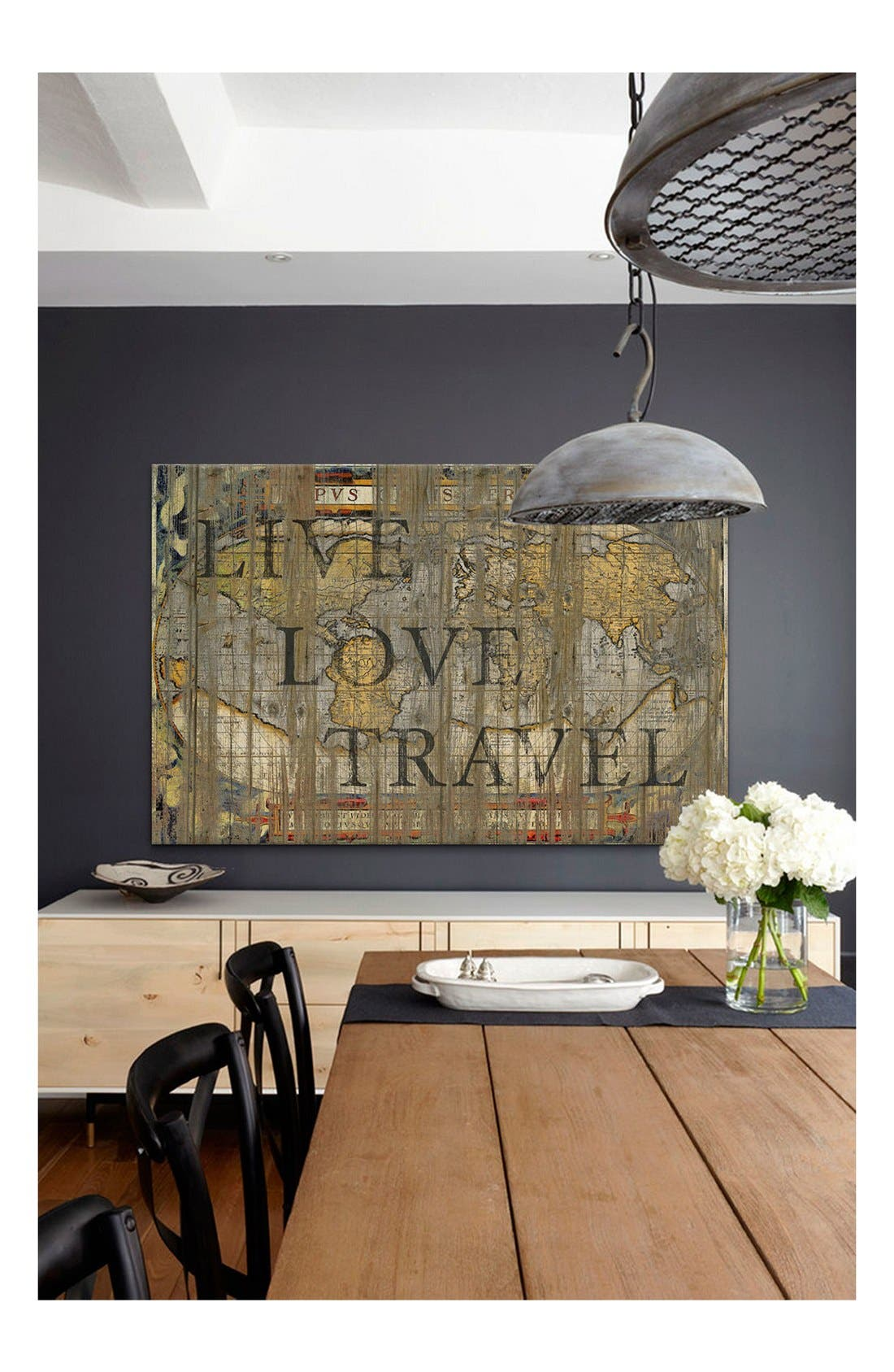 'Live Love Travel - Diego Tirigall' Giclée Print Canvas Art,                             Alternate thumbnail 2, color,                             Brown/ Multi