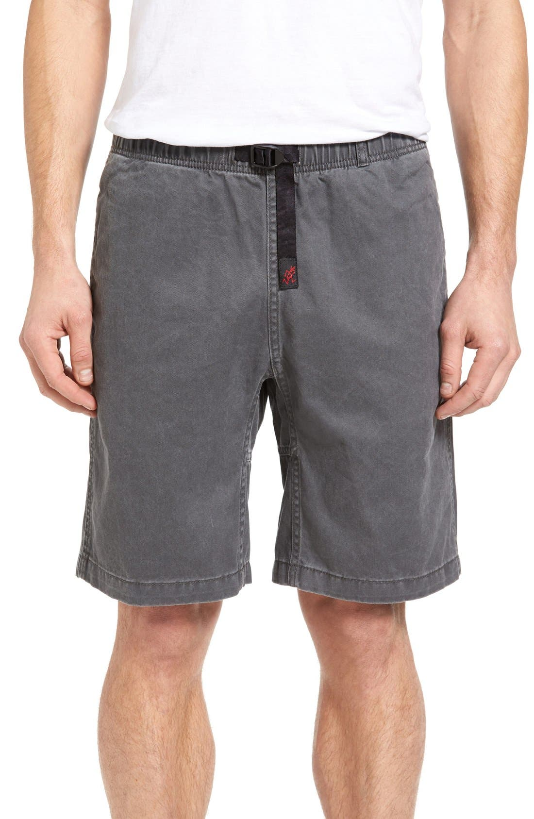 Rockin Sport Shorts,                         Main,                         color, Asphalt Grey