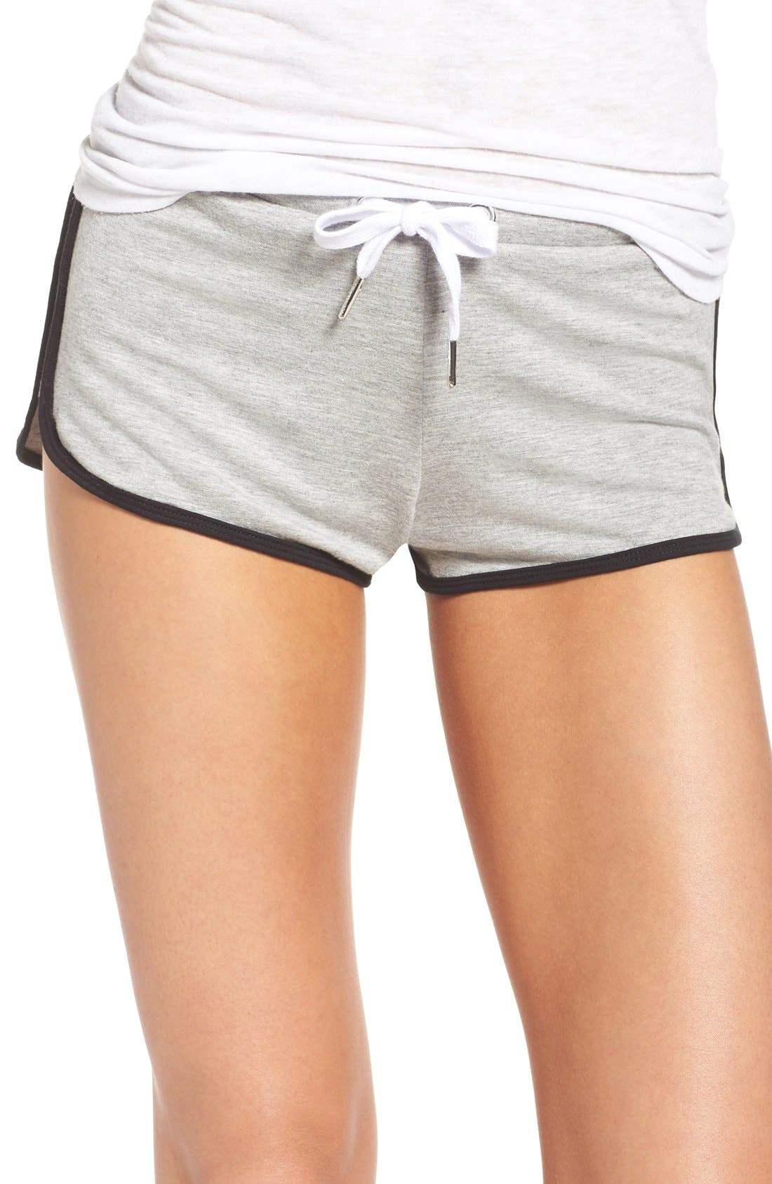 Lounge Shorts,                         Main,                         color, Heather