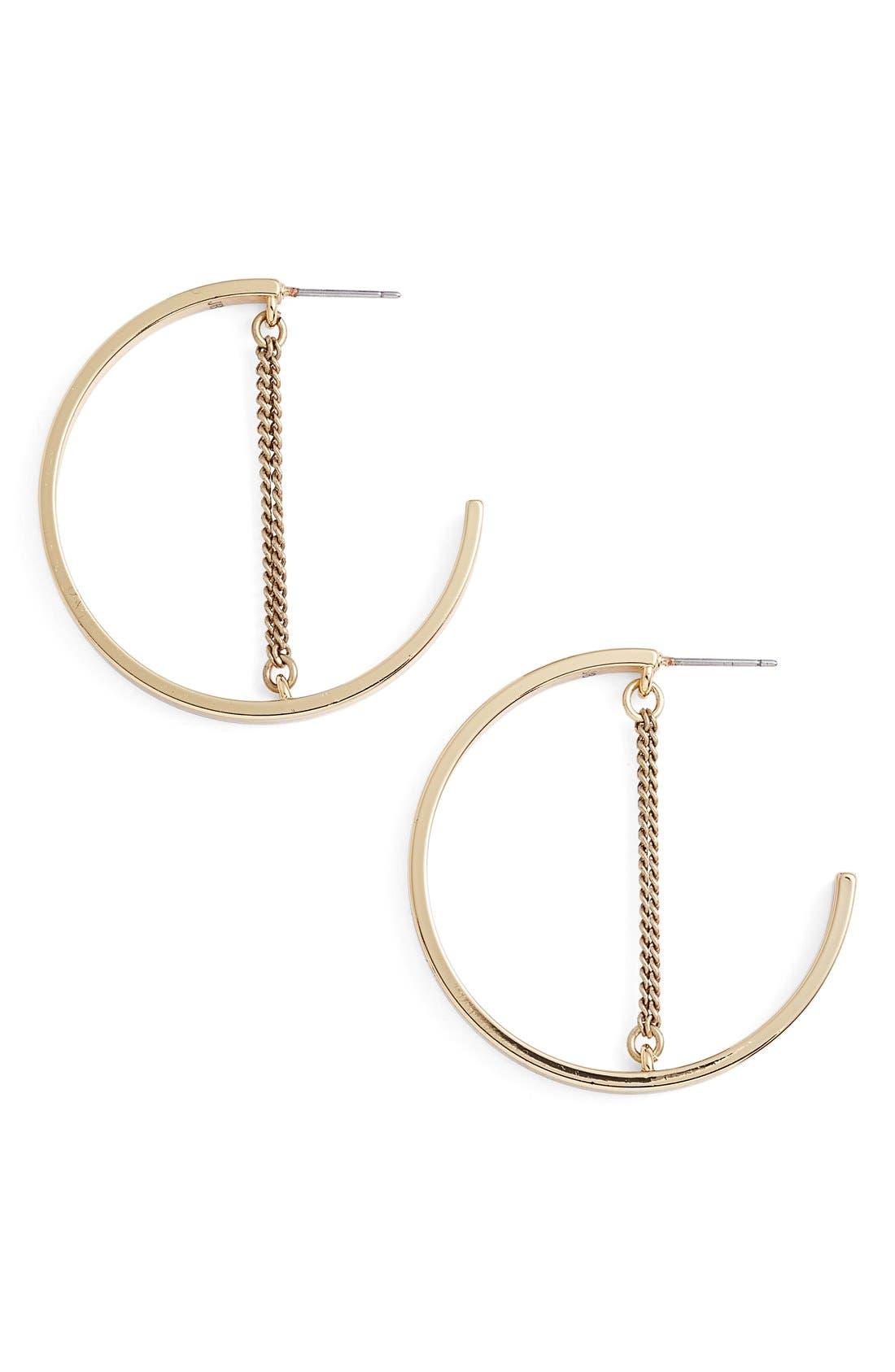 Alternate Image 2  - Jenny Bird Mia Hoop Earrings