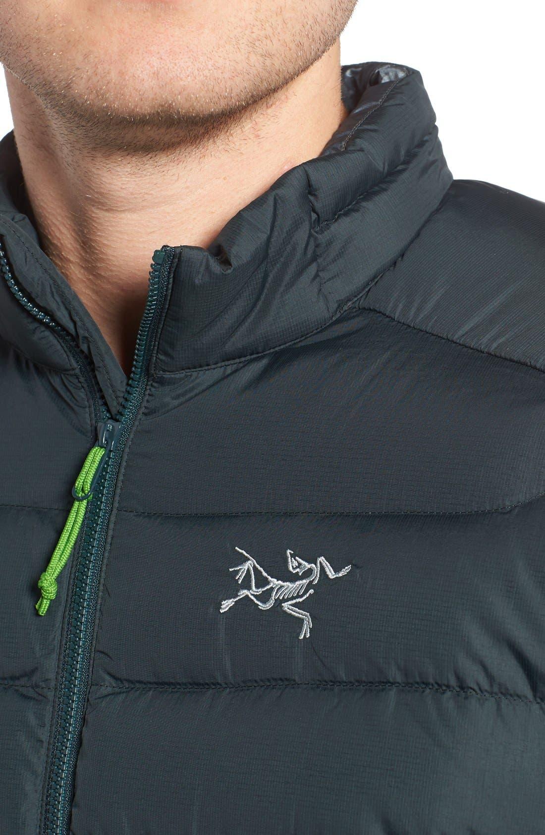 Thorium AR Water Resistant 750 Fill Power Down Jacket,                             Alternate thumbnail 4, color,                             Odysseus