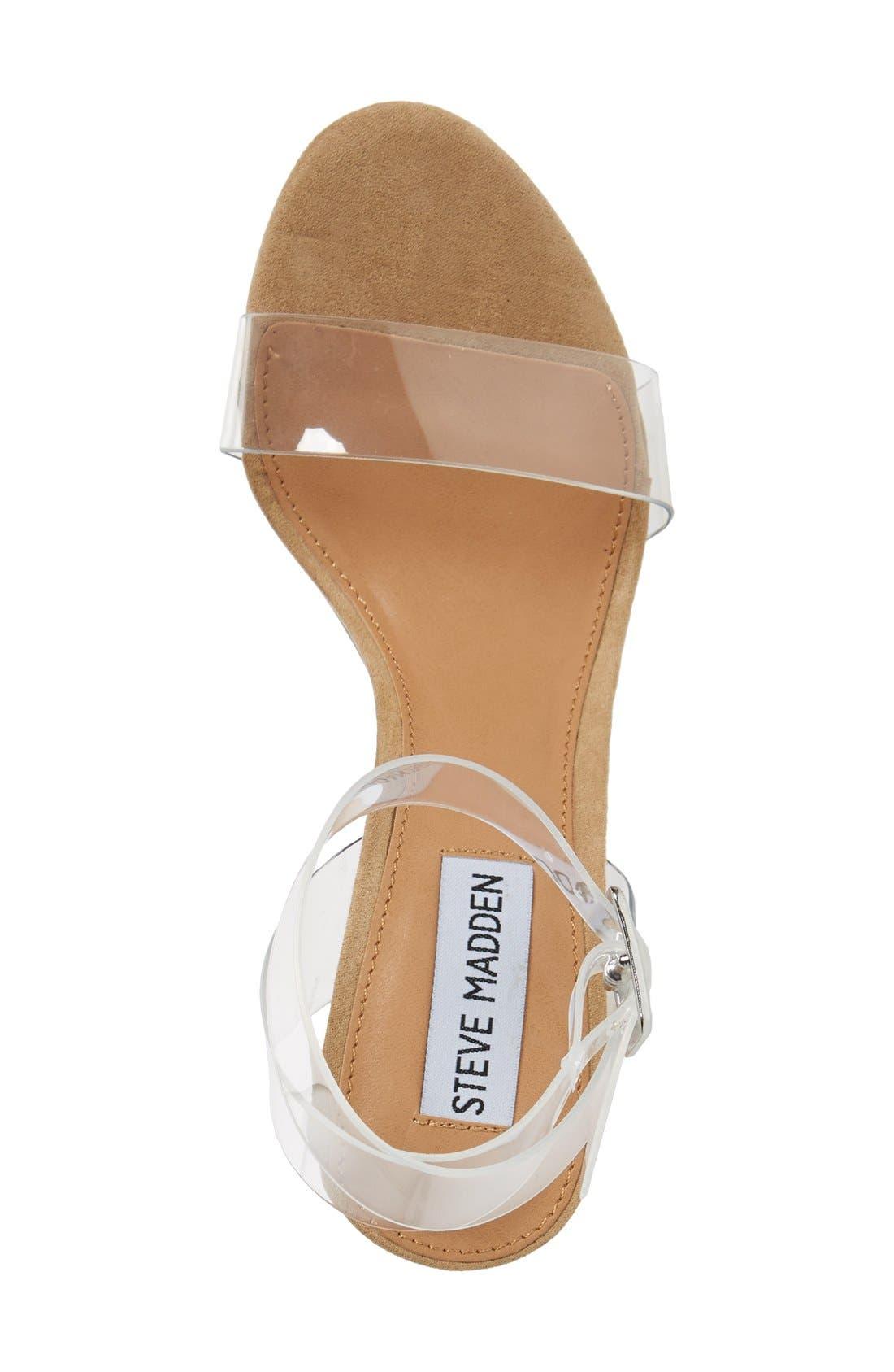 Alternate Image 3  - Steve Madden Clearer Column Heel Sandal (Women)