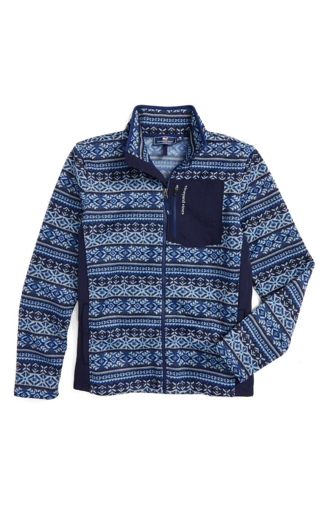 Vineyard Vines Fair Isle Fleece Sweater (Toddler Boys, Little Boys ...