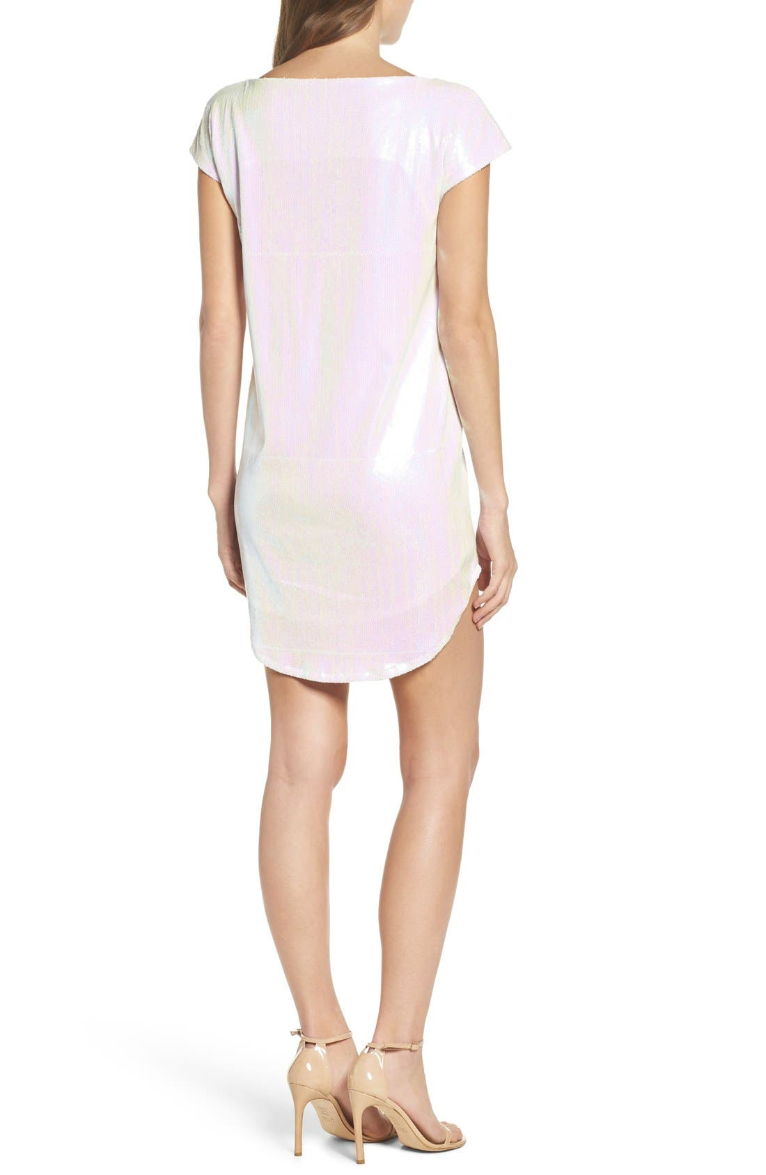 Alternate Image 2  - Hayley Paige Wedding Day Vibes Dress