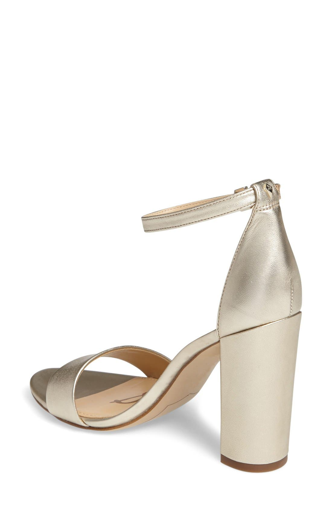 Yaro Ankle Strap Sandal,                             Alternate thumbnail 2, color,                             Jute Leather