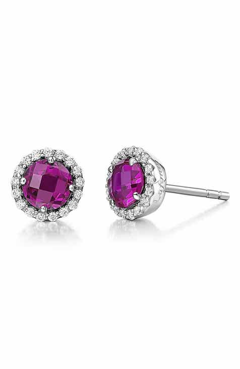 fb1b7d72d7760 Lafonn Birthstone Stud Earrings