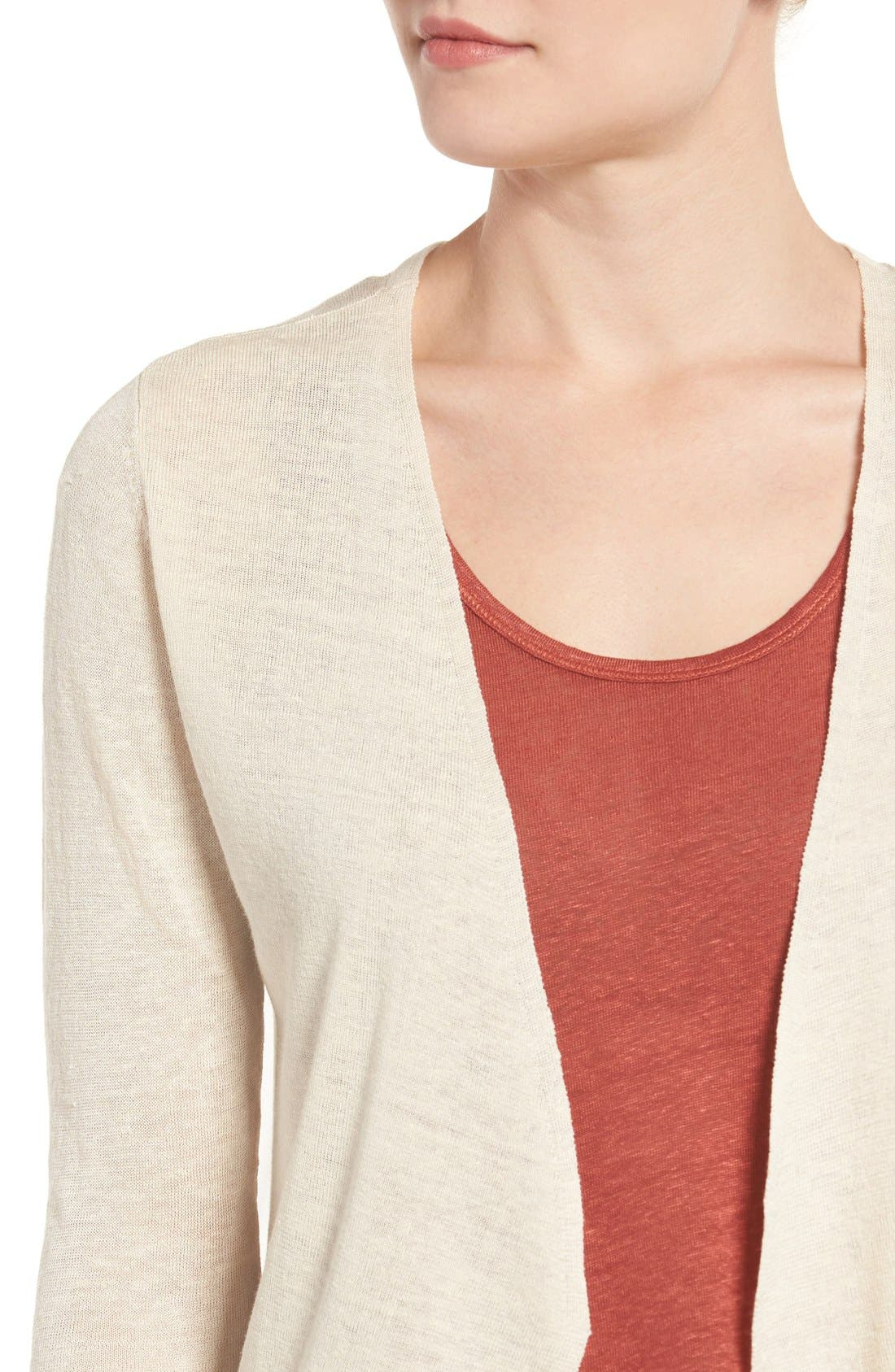 Alternate Image 4  - NIC+ZOE Open Blazer Cardigan