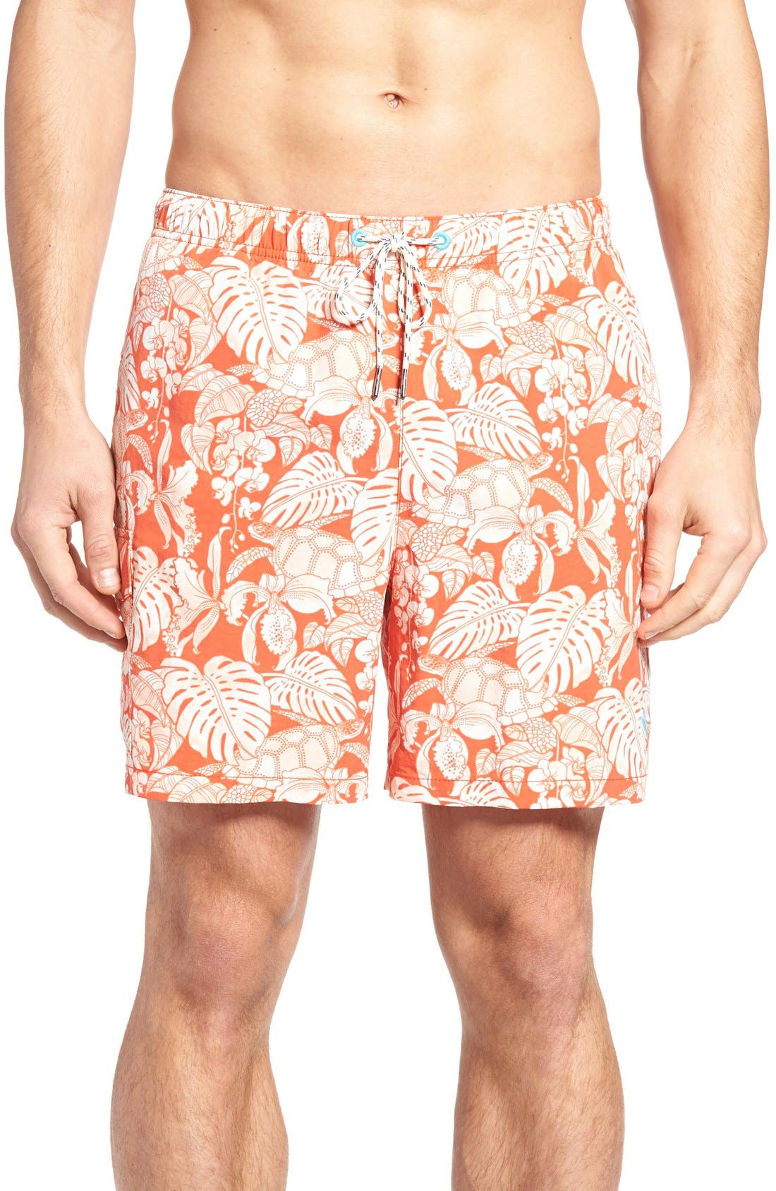 Tommy Bahama Naples Turtle Cove Swim Trunks (Big & Tall)