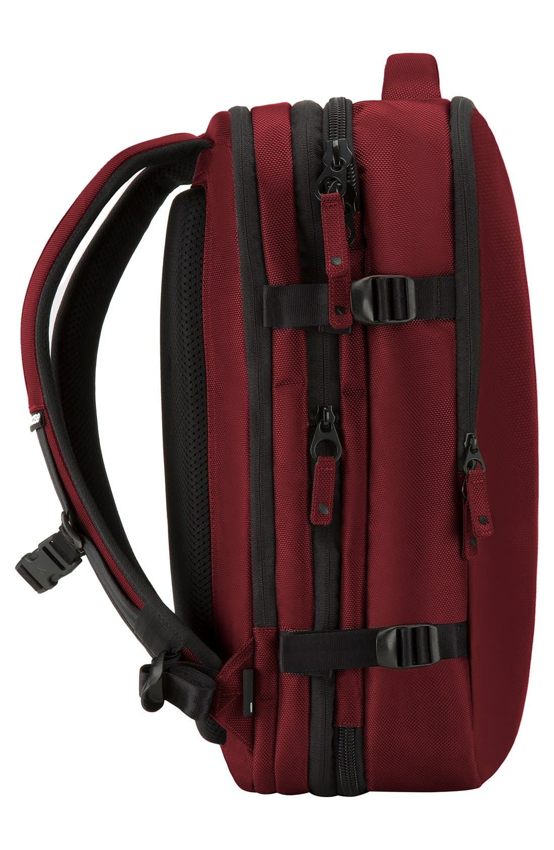 VIA Backpack,                             Alternate thumbnail 3, color,                             Deep Red