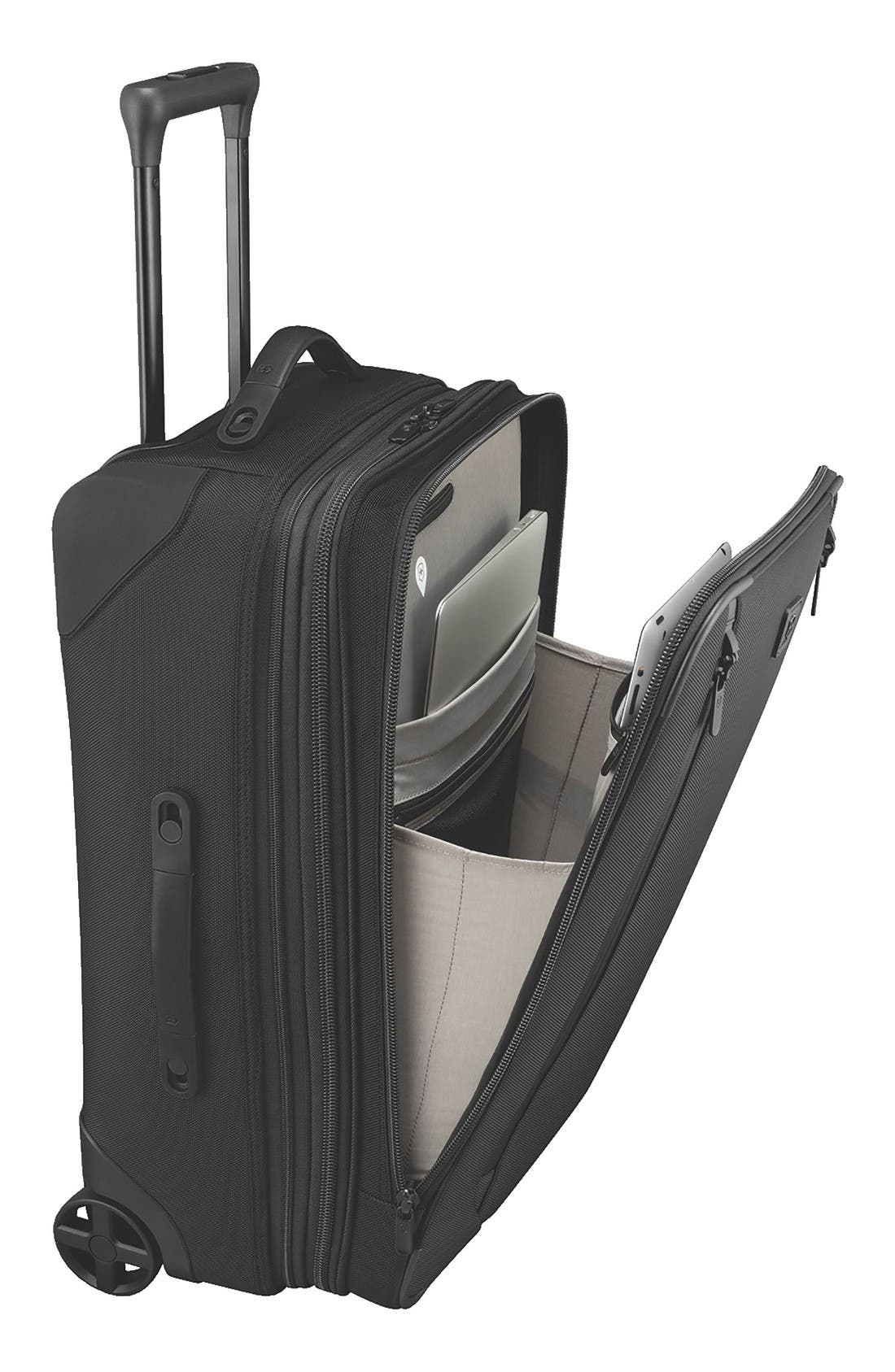 Lexicon 2.0 Wheeled 24-Inch Suitcase,                             Alternate thumbnail 2, color,                             Black