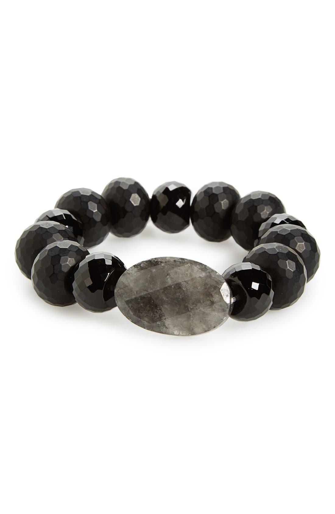 Alternate Image 1 Selected - Chan Luu Semiprecious Stone Stretch Bracelet