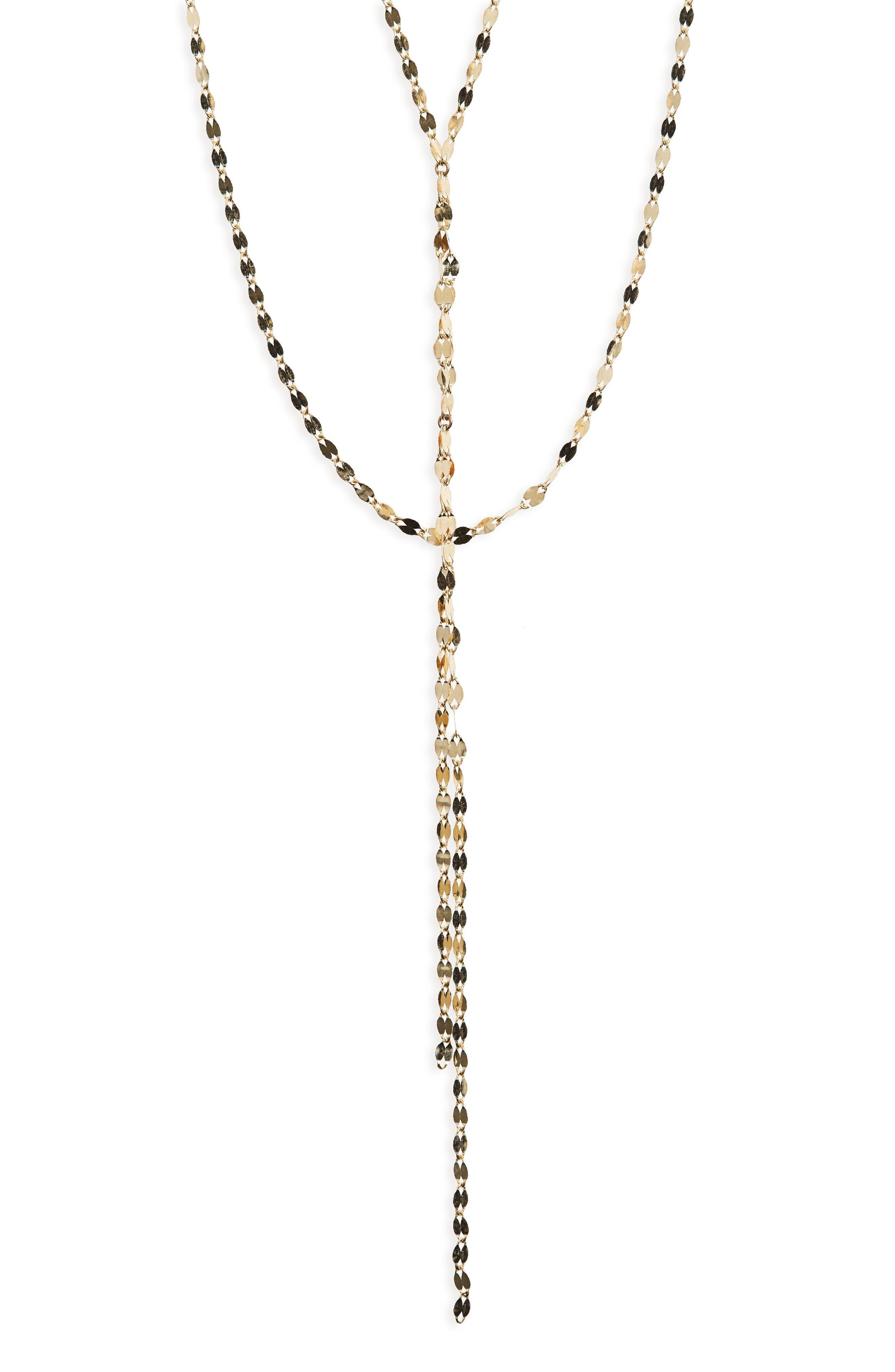 Lana Jewelry 'Blake' Lariat Necklace