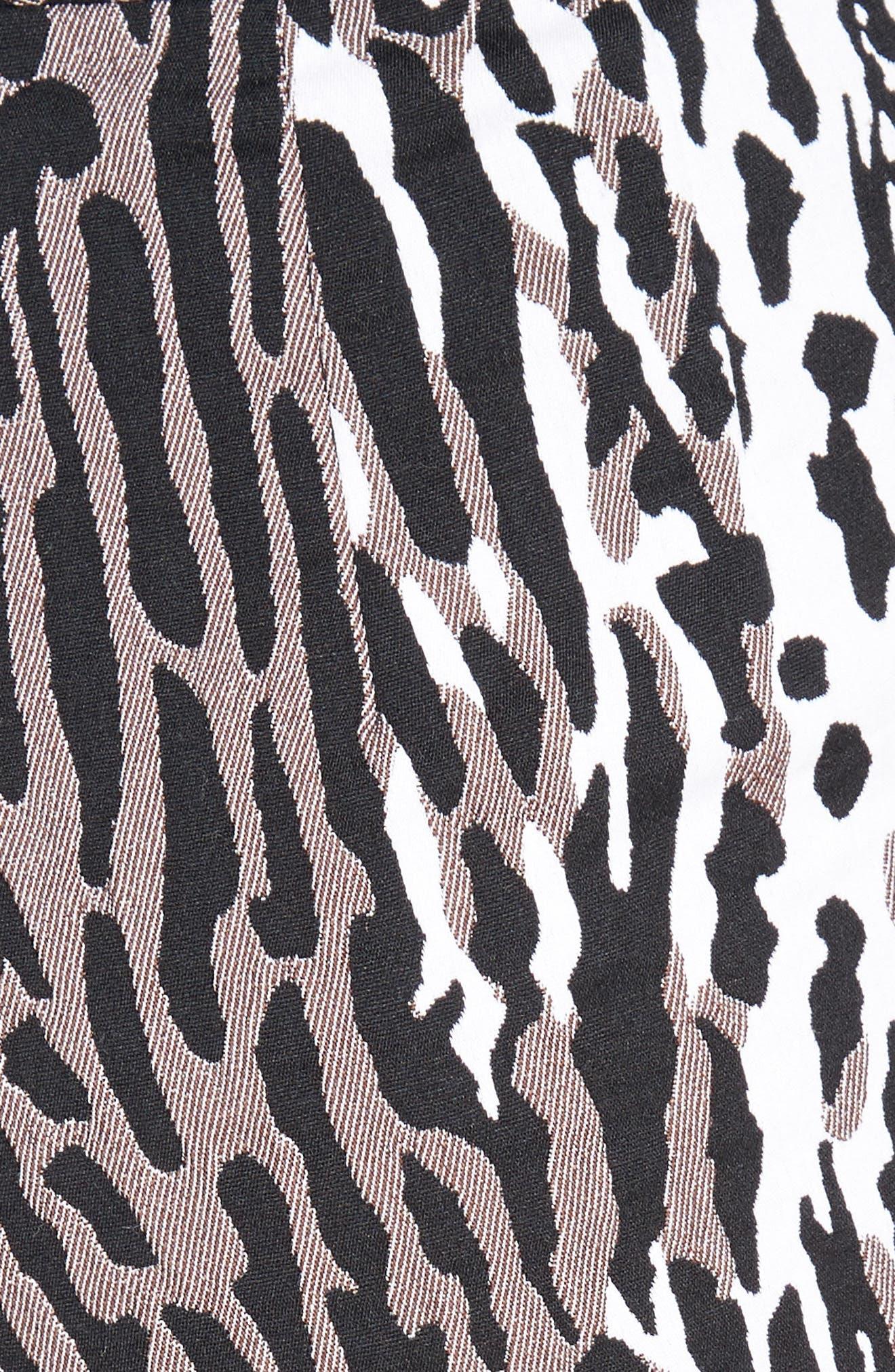 Alternate Image 3  - St. John Collection Leopard Jacquard Ankle Pants
