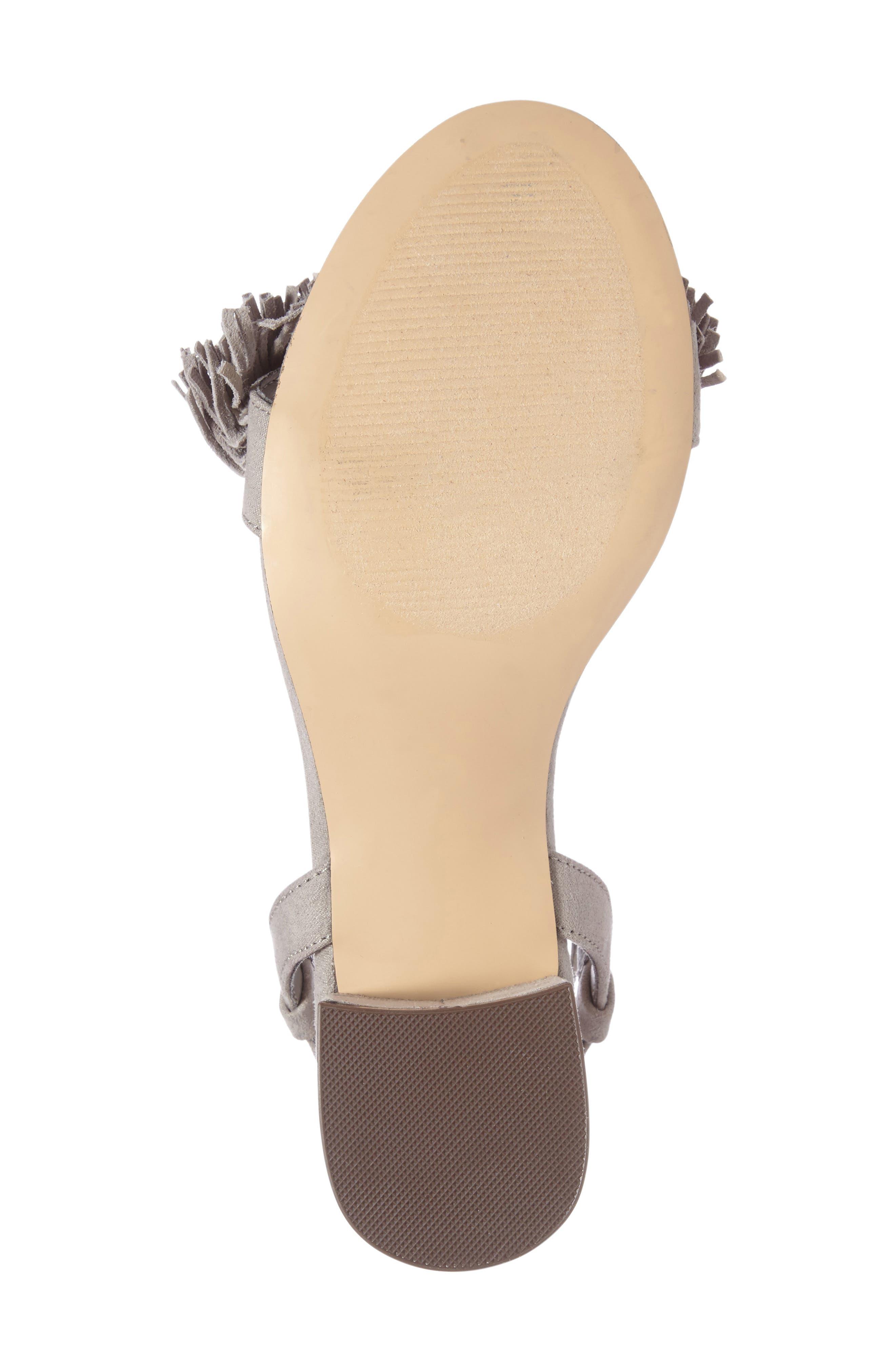 Alternate Image 4  - Athena Alexander Fringed Ankle Wrap Sandal (Women)
