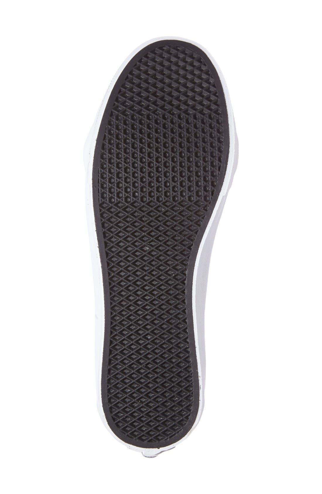 Alternate Image 4  - Vans 'Sk8-Hi Slim' Metallic Leather Sneaker (Women)