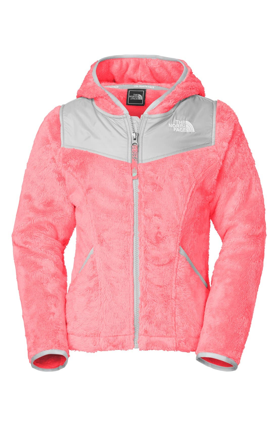 Main Image - The North Face 'Oso' Fleece Hoodie (Little Girls)