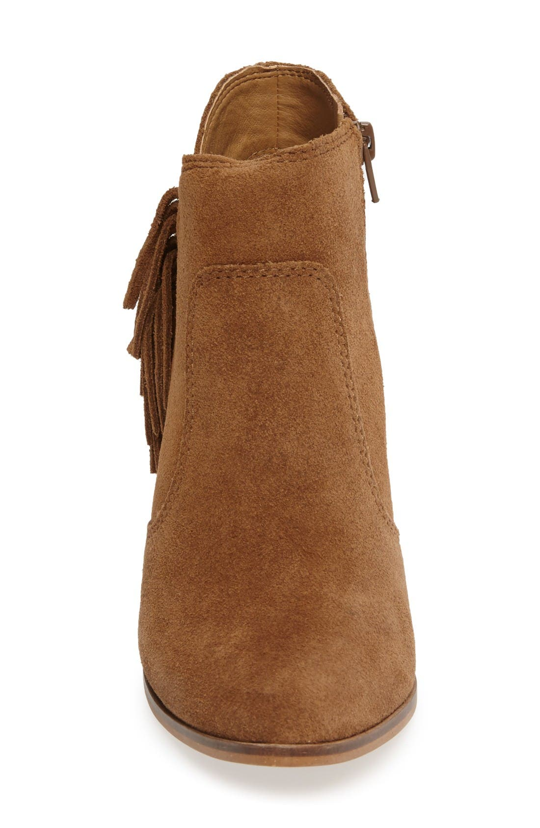 Alternate Image 3  - Lucky Brand Mercerr Pointy Toe Fringe Bootie (Women)