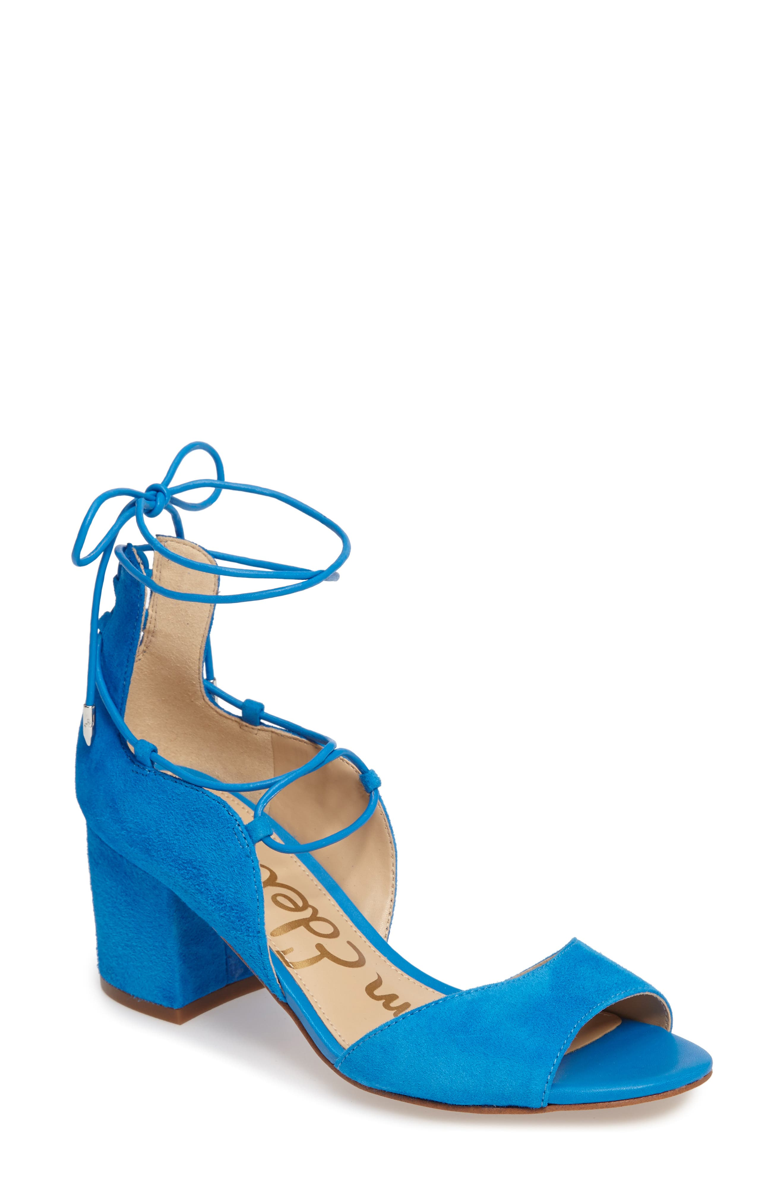 Alternate Image 1 Selected - Sam Edelman Serene Lace-Up Sandal (Women)