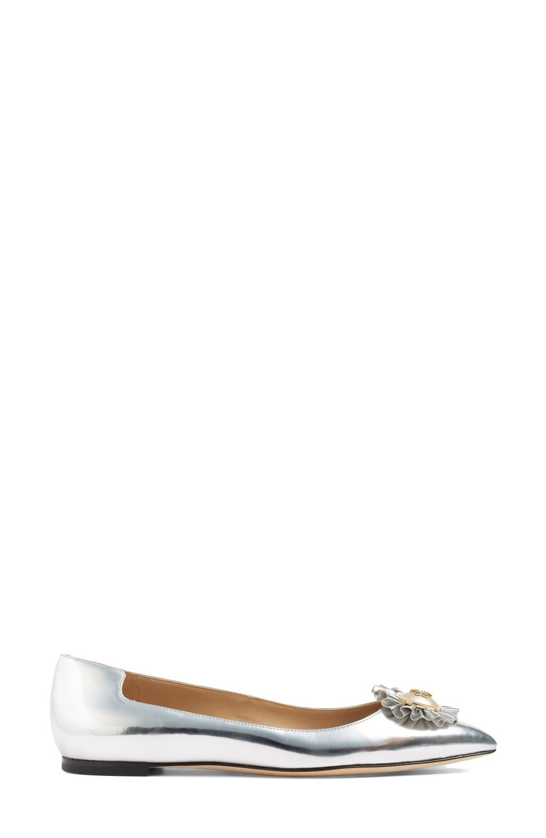 Alternate Image 4  - Tory Burch Melody Pointy Toe Flat (Women)