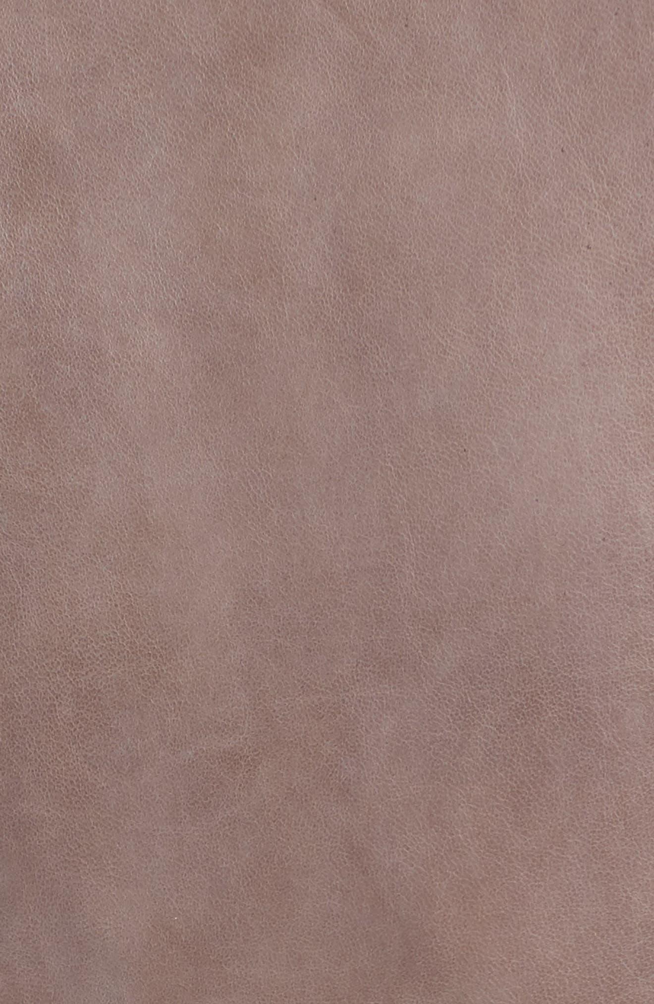 Alternate Image 5  - Mauritius Leather Lambskin Leather Moto Jacket