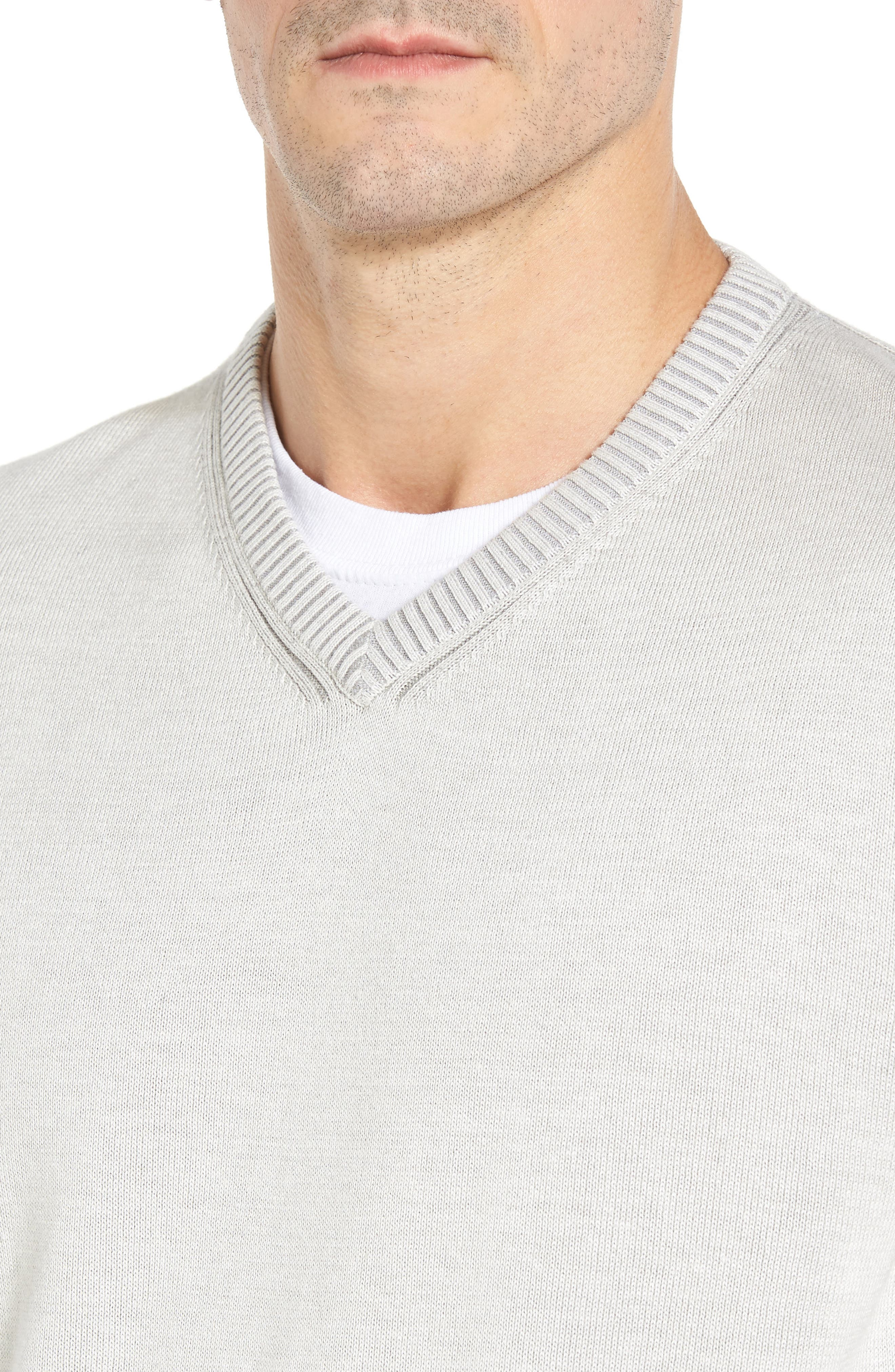 Alternate Image 4  - Tommy Bahama Chief Island Officer Silk Blend Sweater