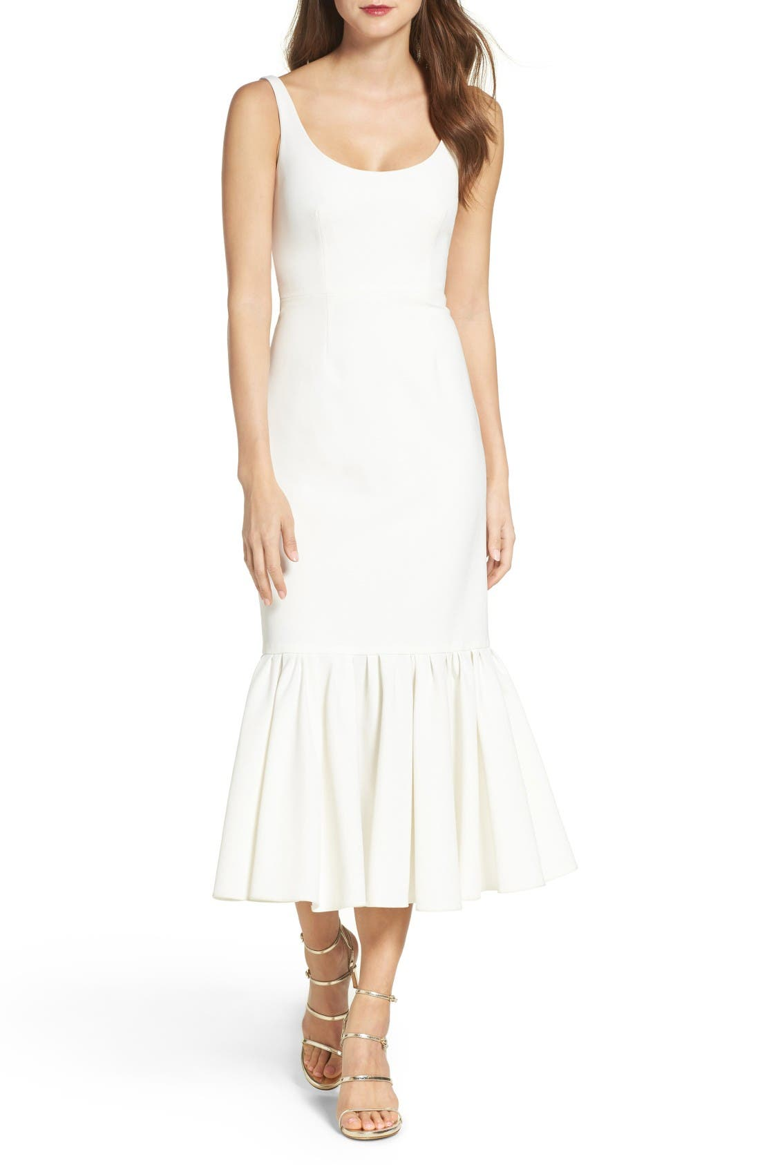 Alternate Image 1 Selected - Jill Jill Stuart Body-Con Midi Dress
