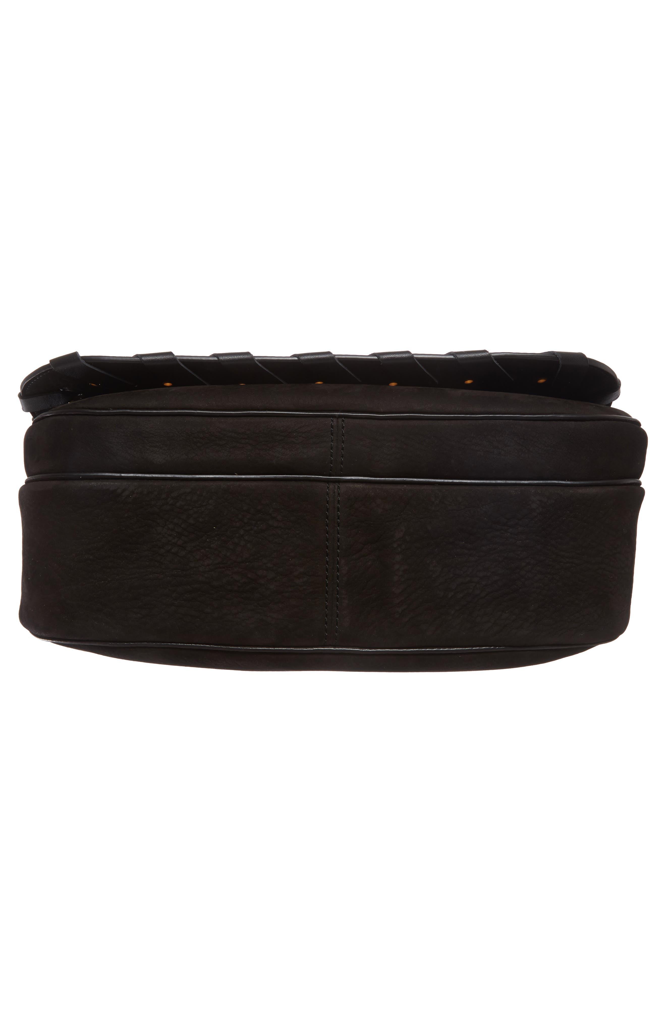 Alternate Image 5  - MARC JACOBS Courier Nubuck Leather Shoulder Bag