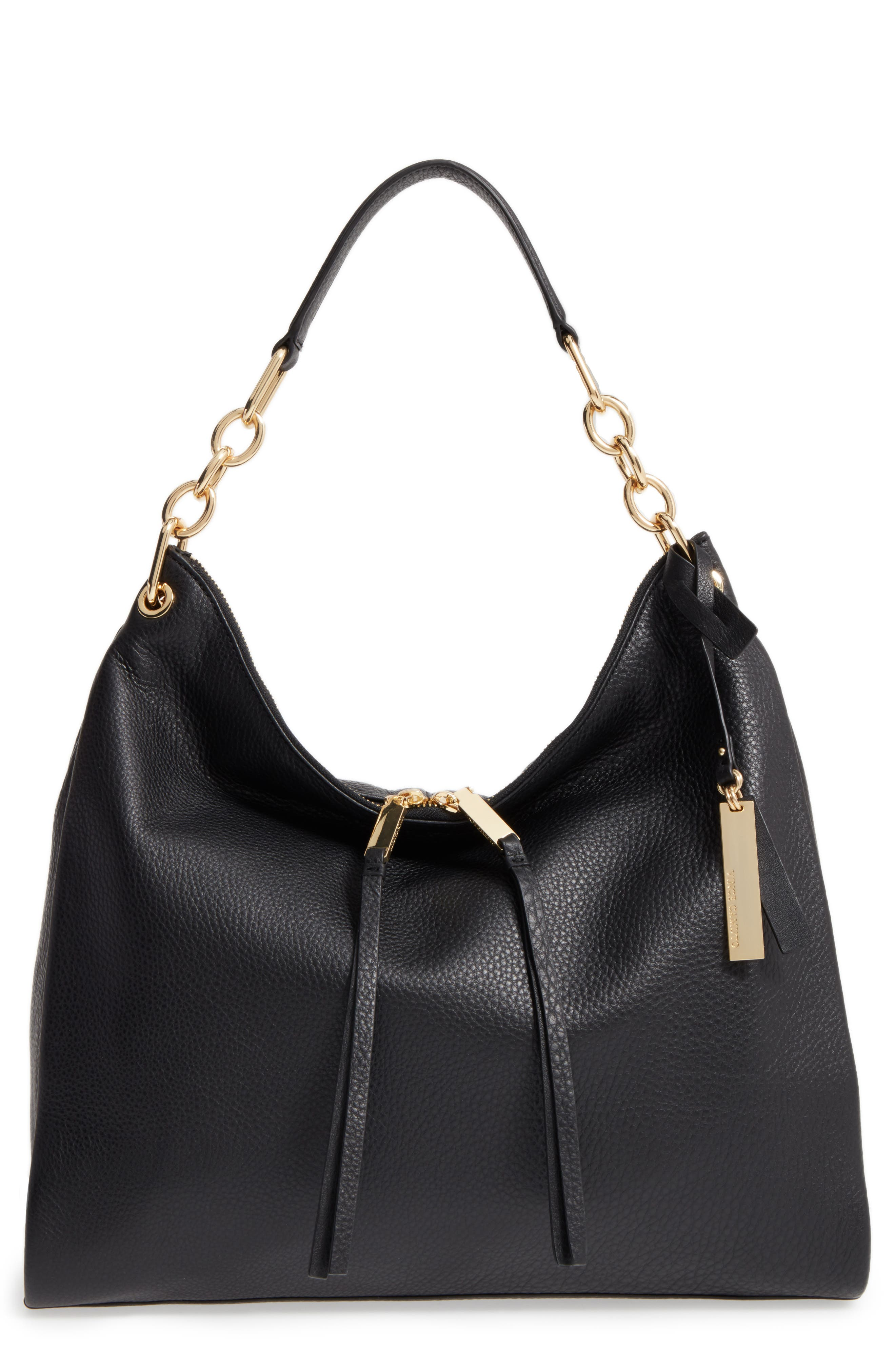 Alternate Image 1 Selected - Vince Camuto Avin Leather Hobo