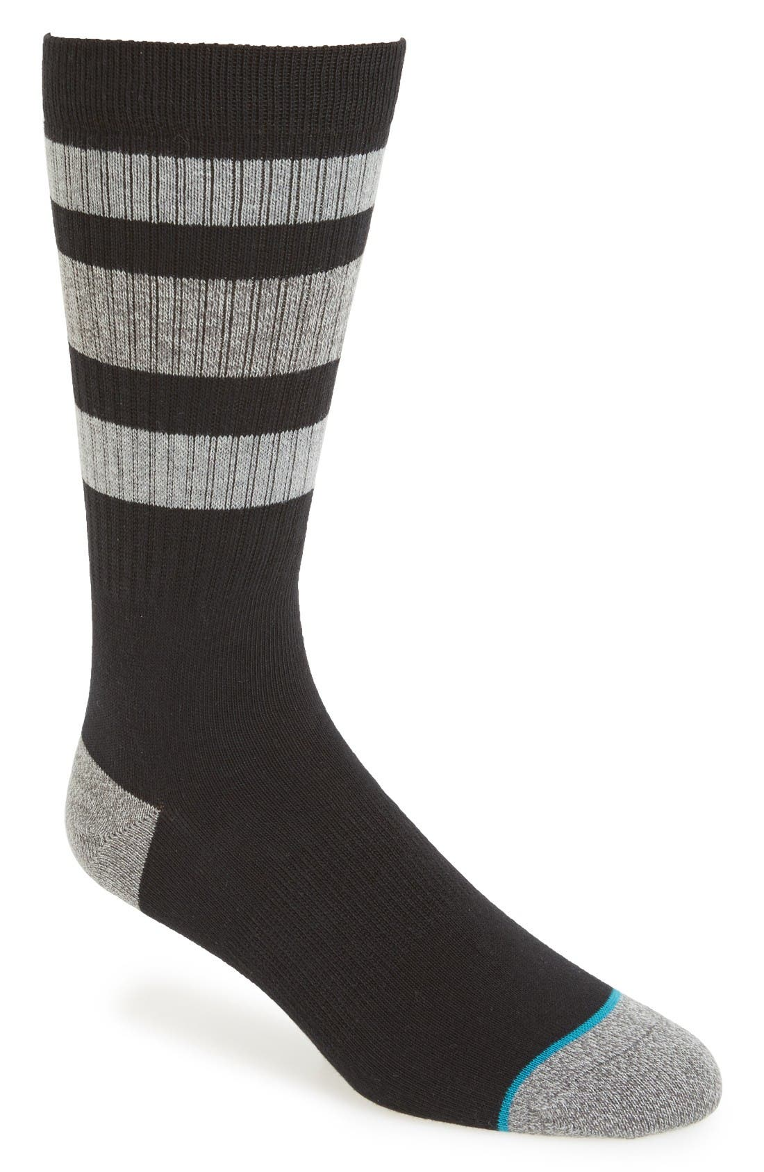 Main Image - Stance Stripe Crew Socks