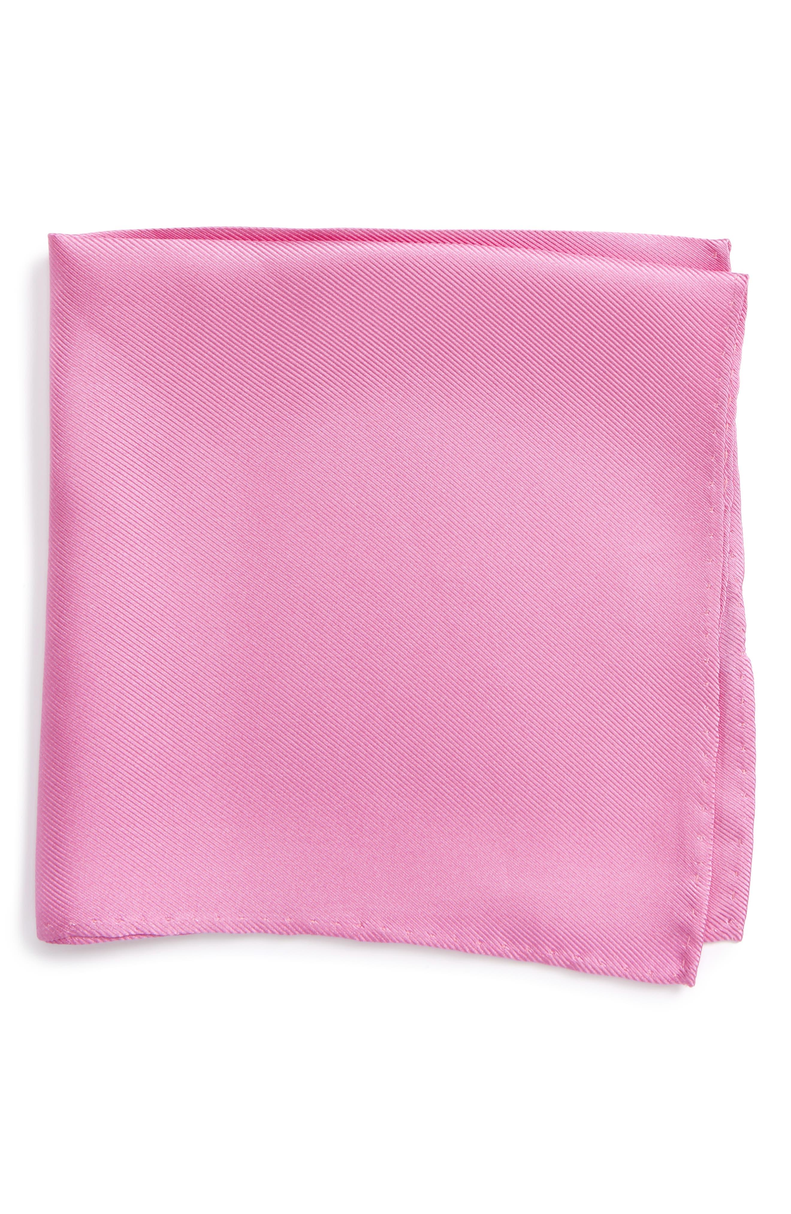 Main Image - Nordstrom Men's Shop Solid Silk Pocket Square