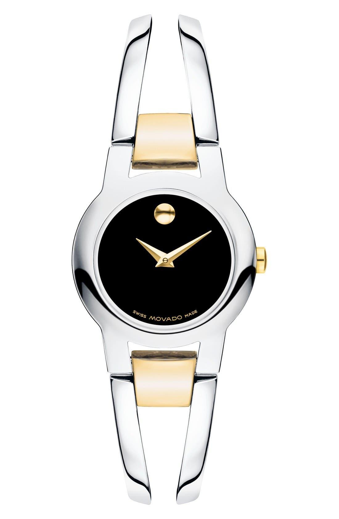 Alternate Image 1 Selected - Movado Amorosa Bracelet Watch, 24mm