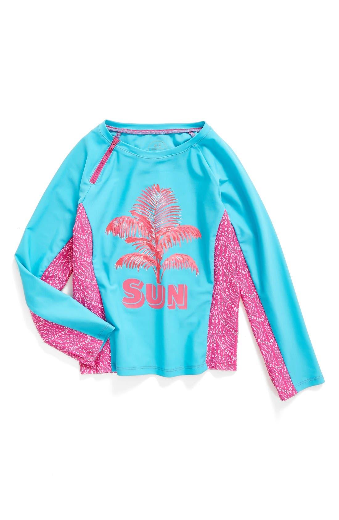 Mott 50 Graphic Long Sleeve Rashguard (Toddler Girls, Little Girls & Big Girls)
